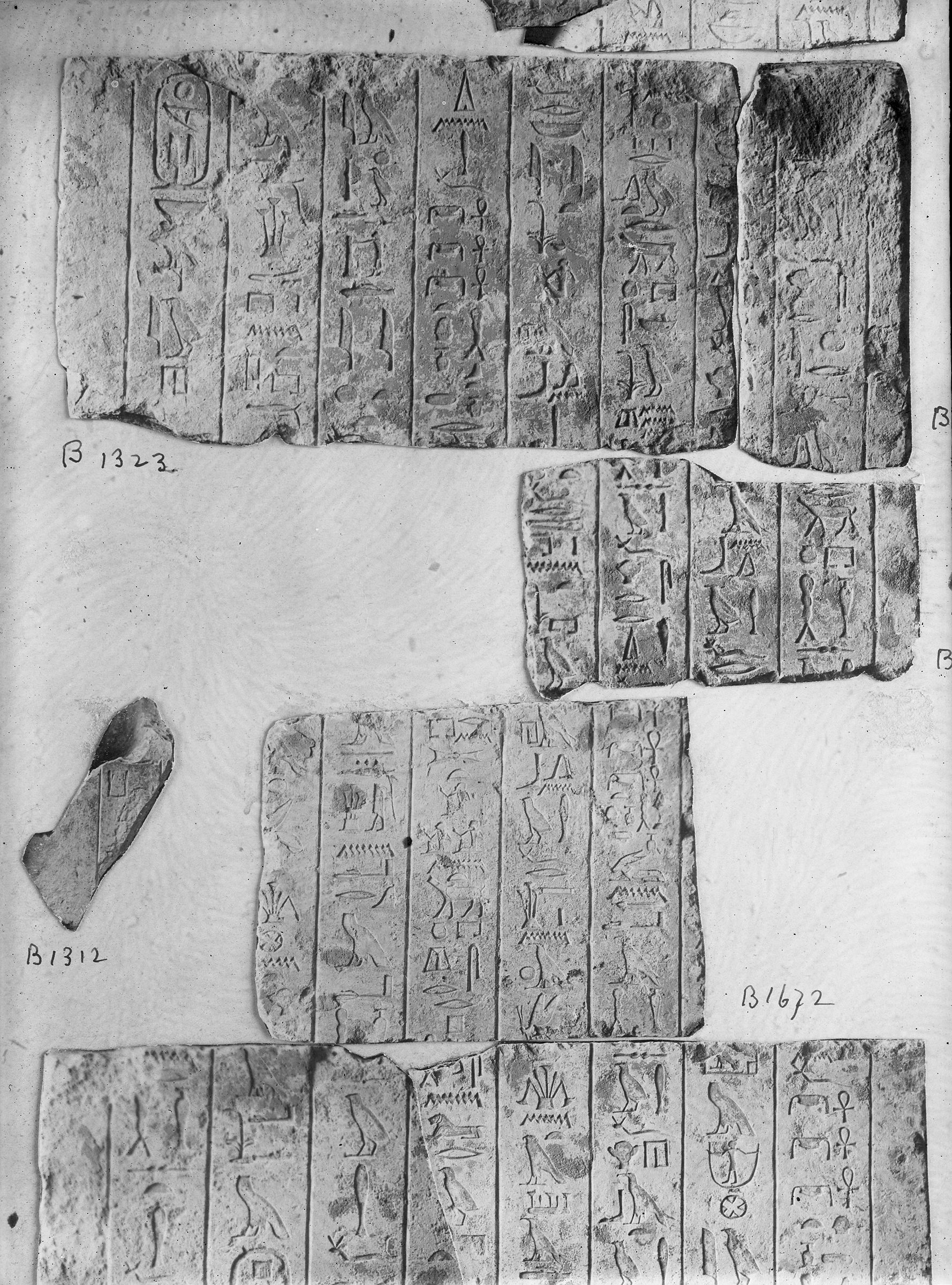 Object(s) photograph: Site: Giza; view: G 2381