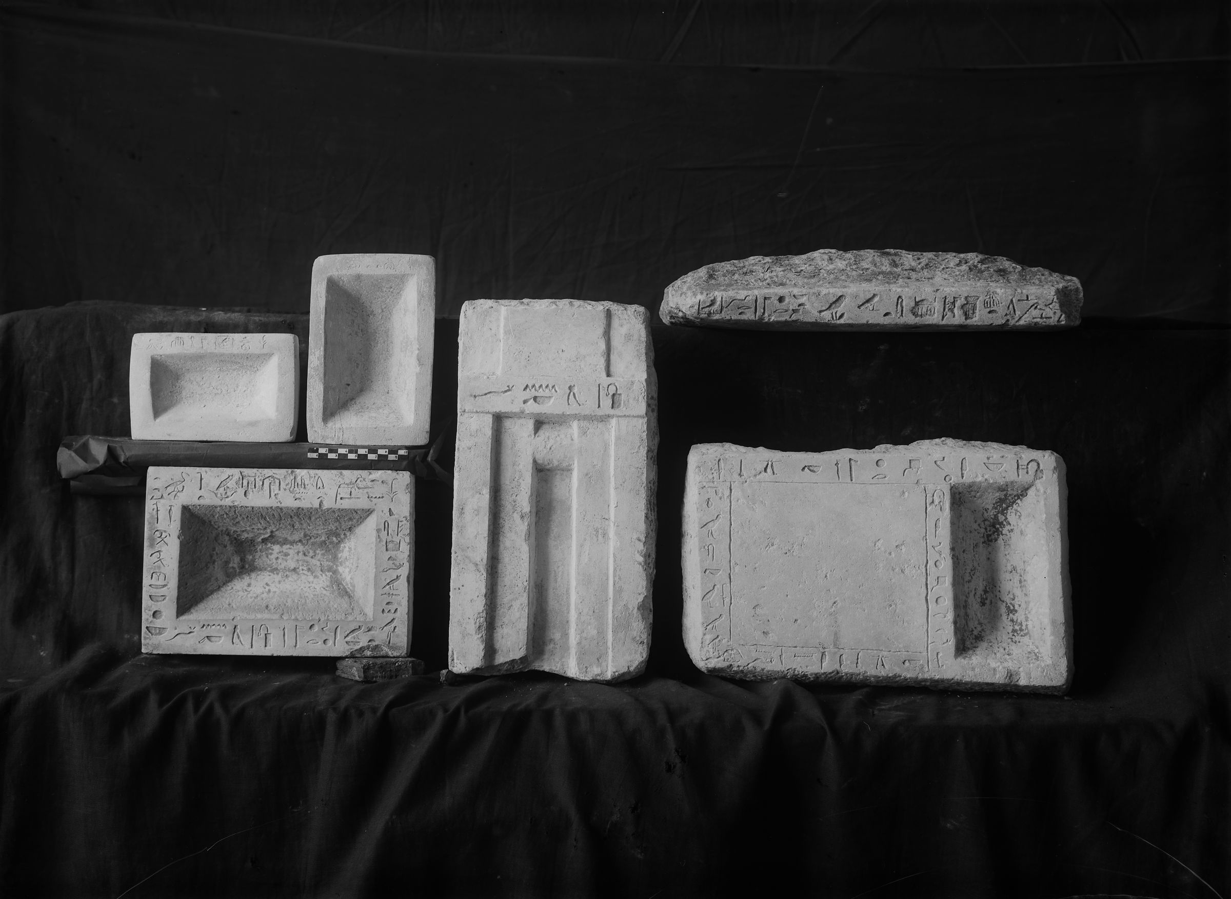Object(s) photograph: Site: Giza; view: G 7939, G 7832, G 7813, G 7000 SE 198