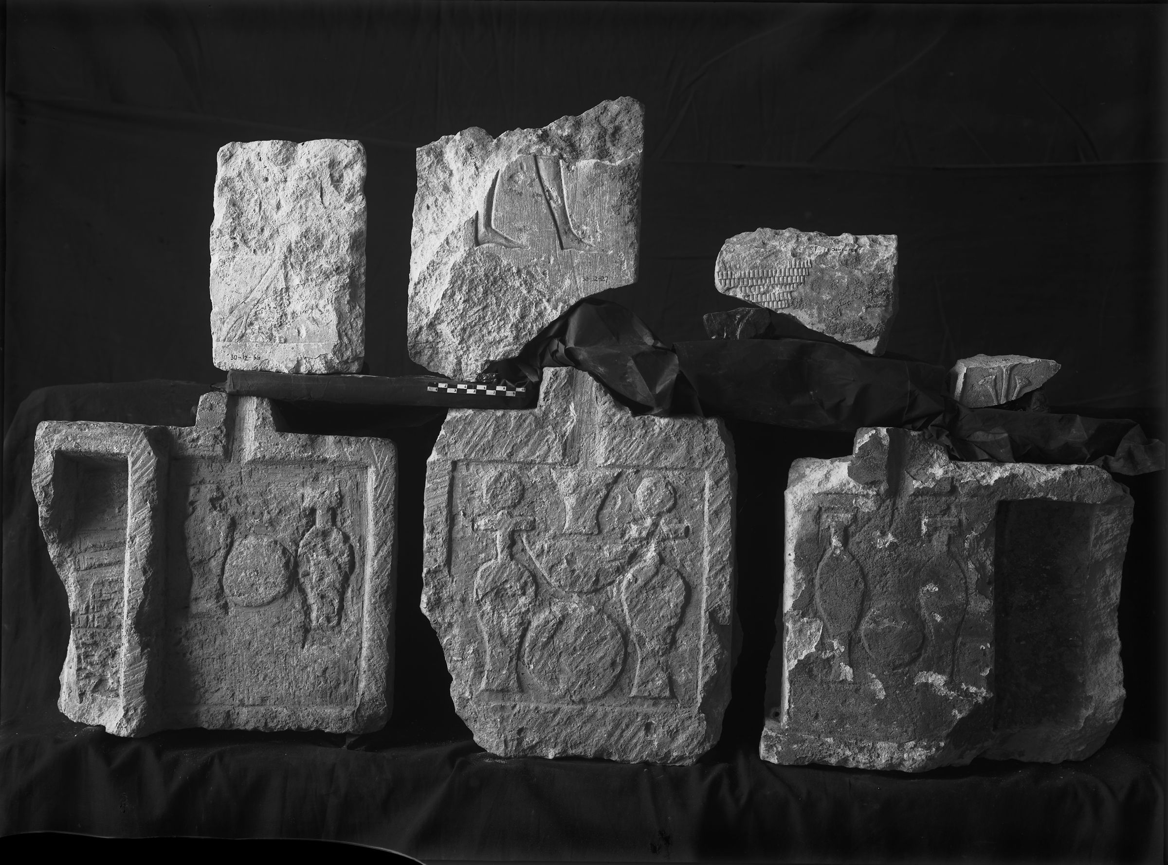Object(s) photograph: Site: Giza; view: G 7940, G 7769, G 7670, G 7813, G 7838, G 7758