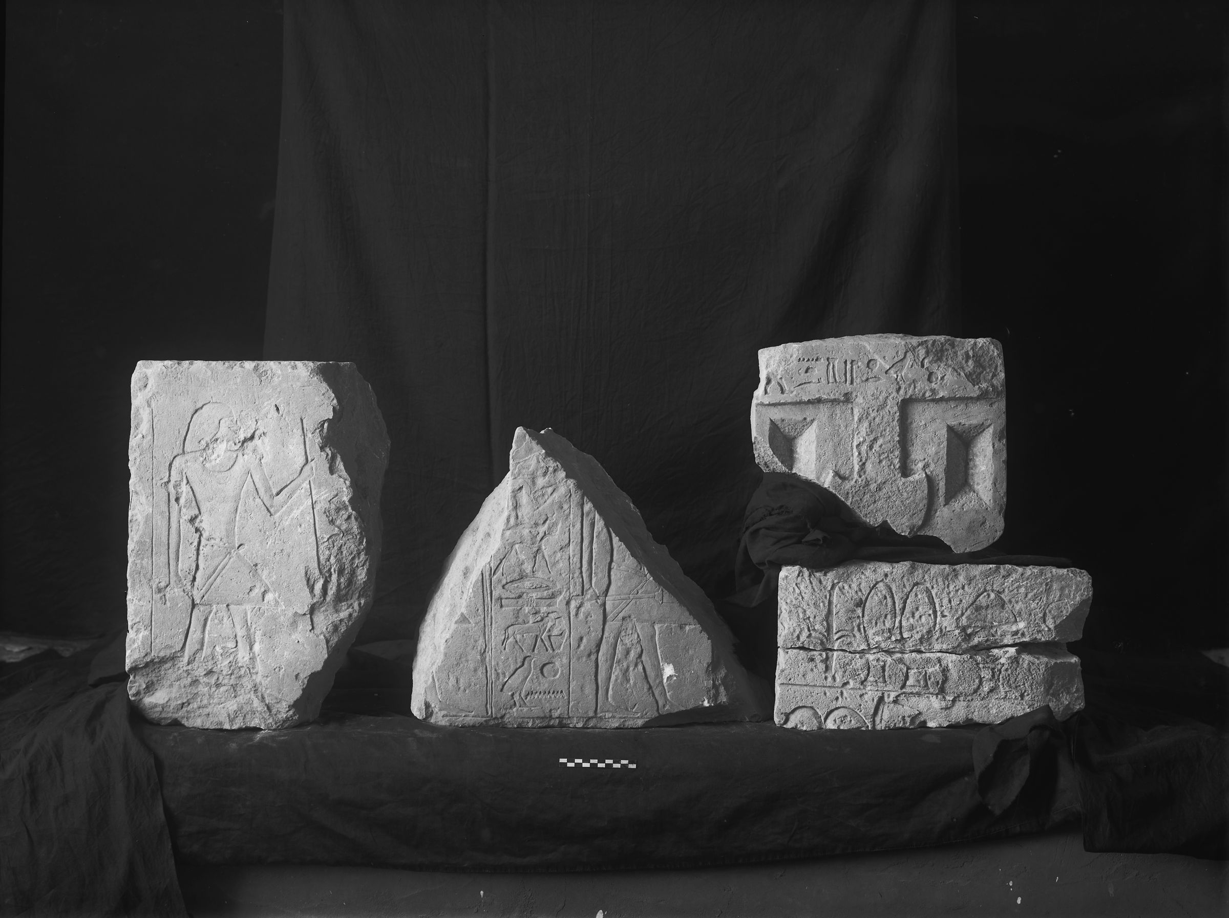 Object(s) photograph: Site: Giza; view: G 2362, G 2391, G 2184