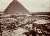 Western Cemetery: Site: Giza; View: G 2033, G 2035, G 2032, G 2034, G 2006, G 2007, G 2008, G 2011, G 2001, G 2005