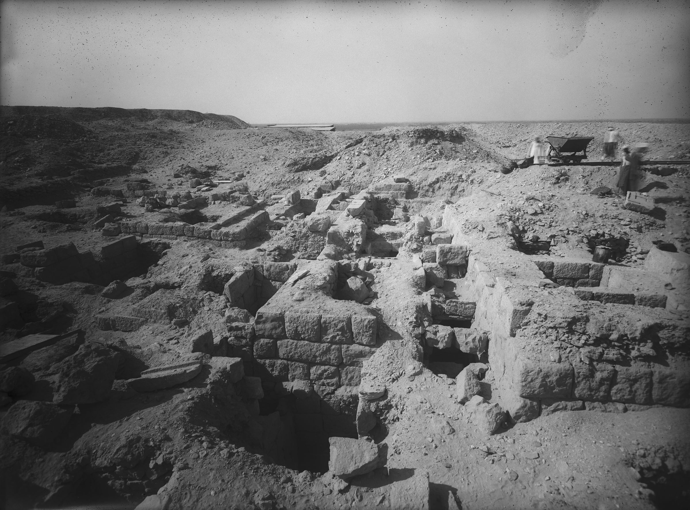 Western Cemetery: Site: Giza; View: G 2407, G 2409, G 2402
