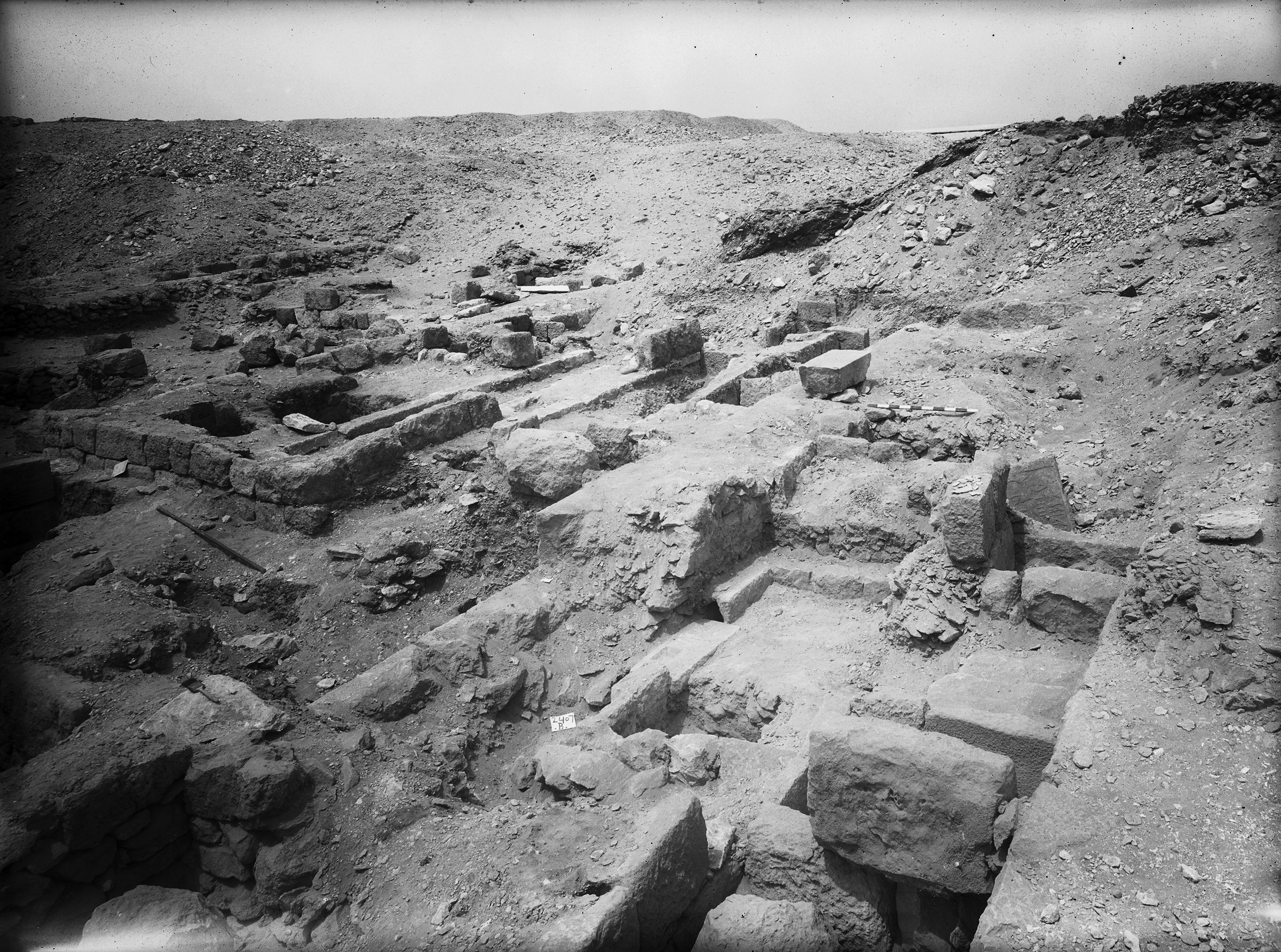Western Cemetery: Site: Giza; View: G 2407, G 2402