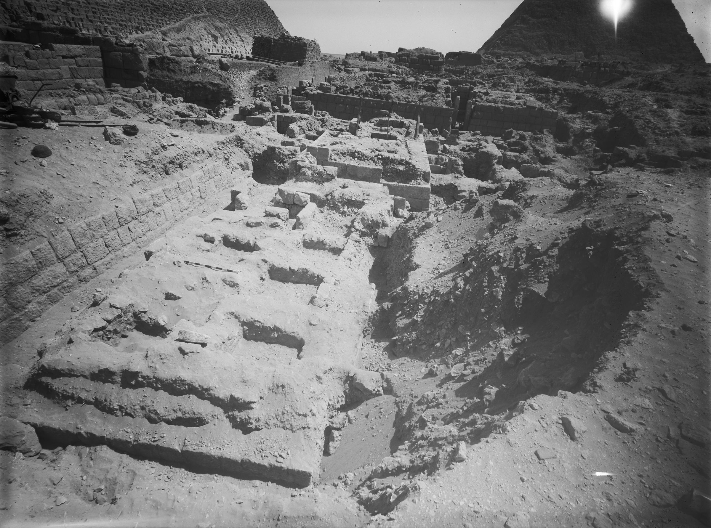 Western Cemetery: Site: Giza; View: G 2419, G 2420, G 2409