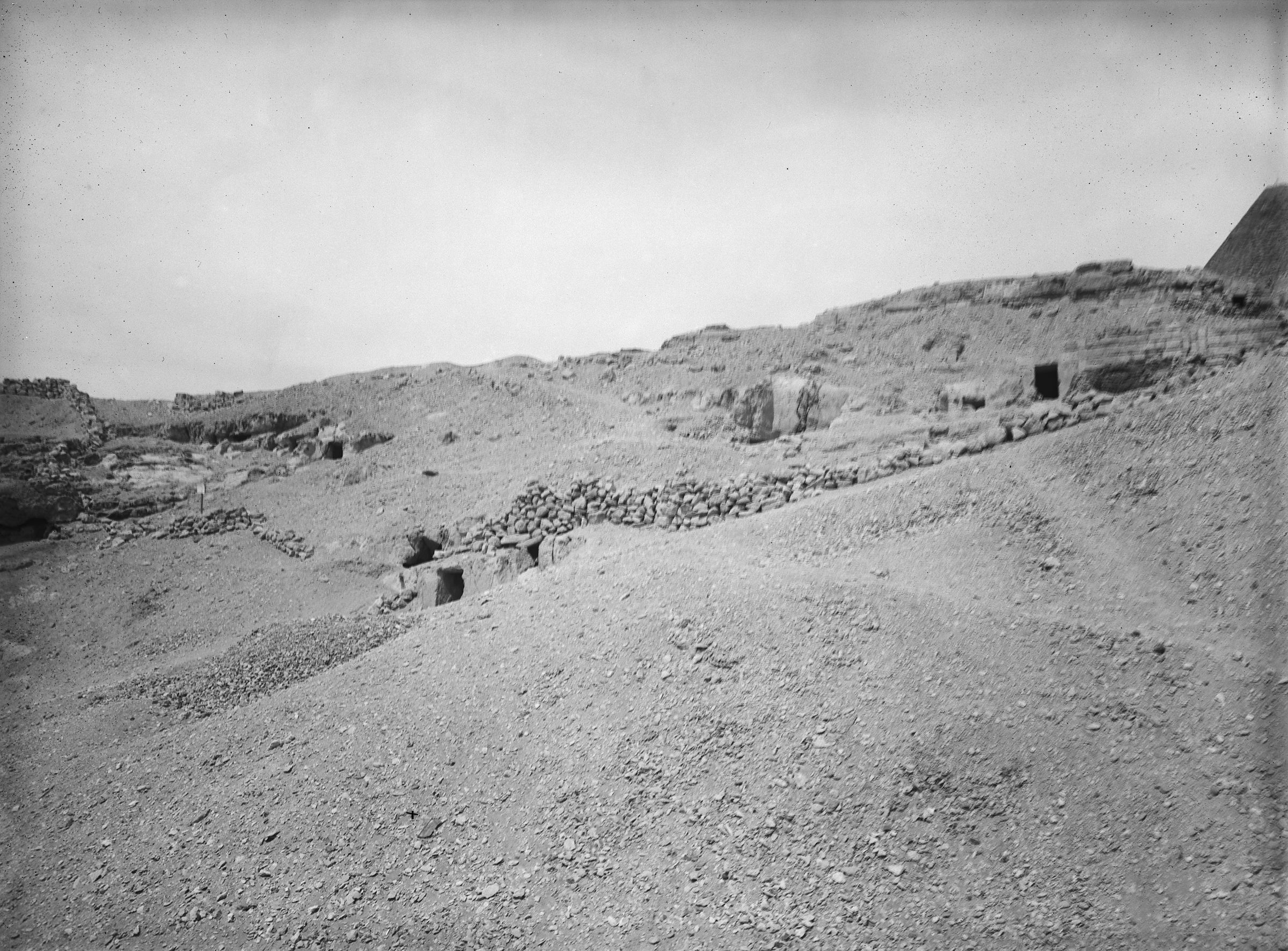 Eastern Cemetery: Site: Giza; View: G 7845, G 7846, G 7851, G 7853
