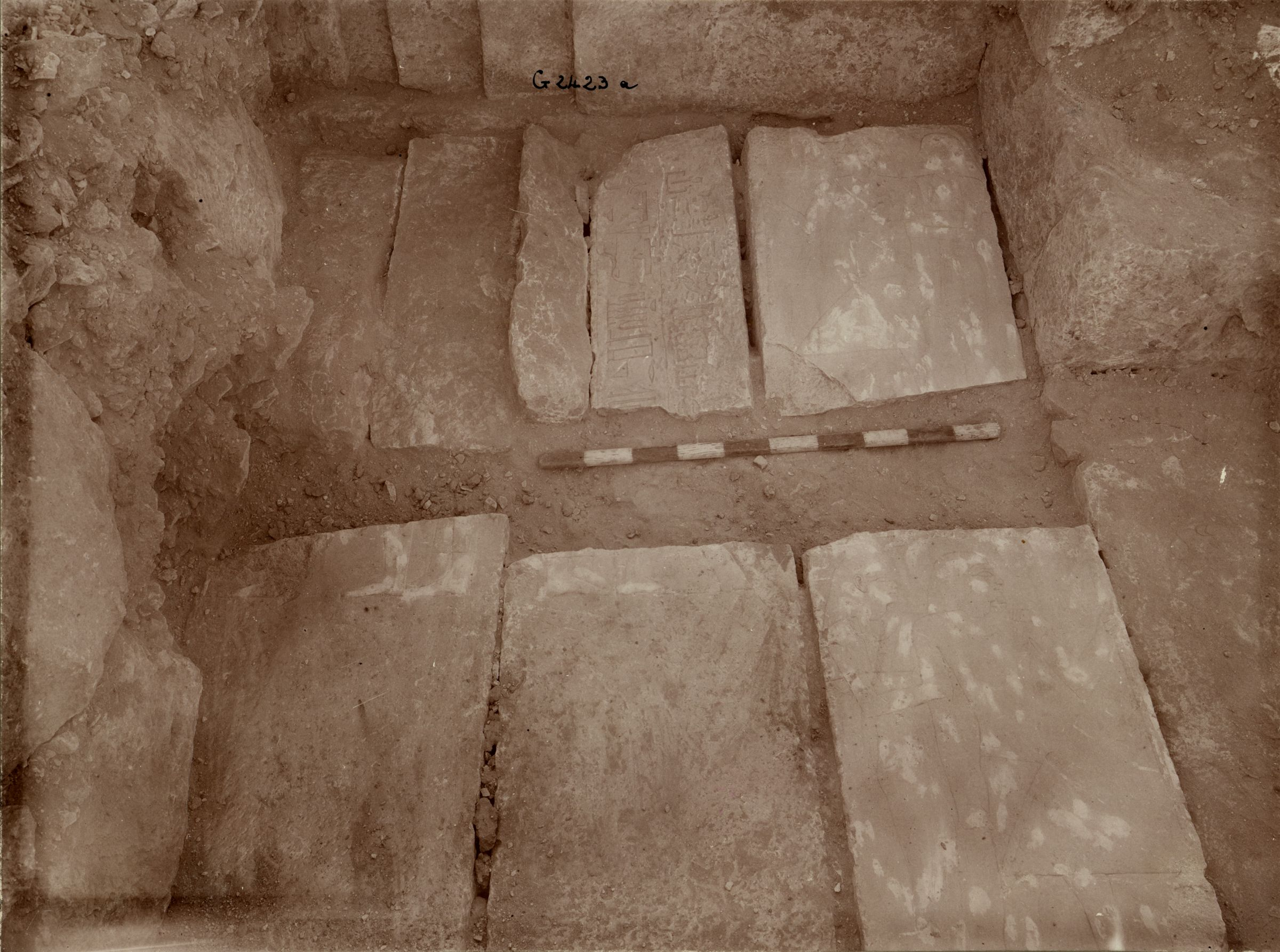 Western Cemetery: Site: Giza; View: G 2423