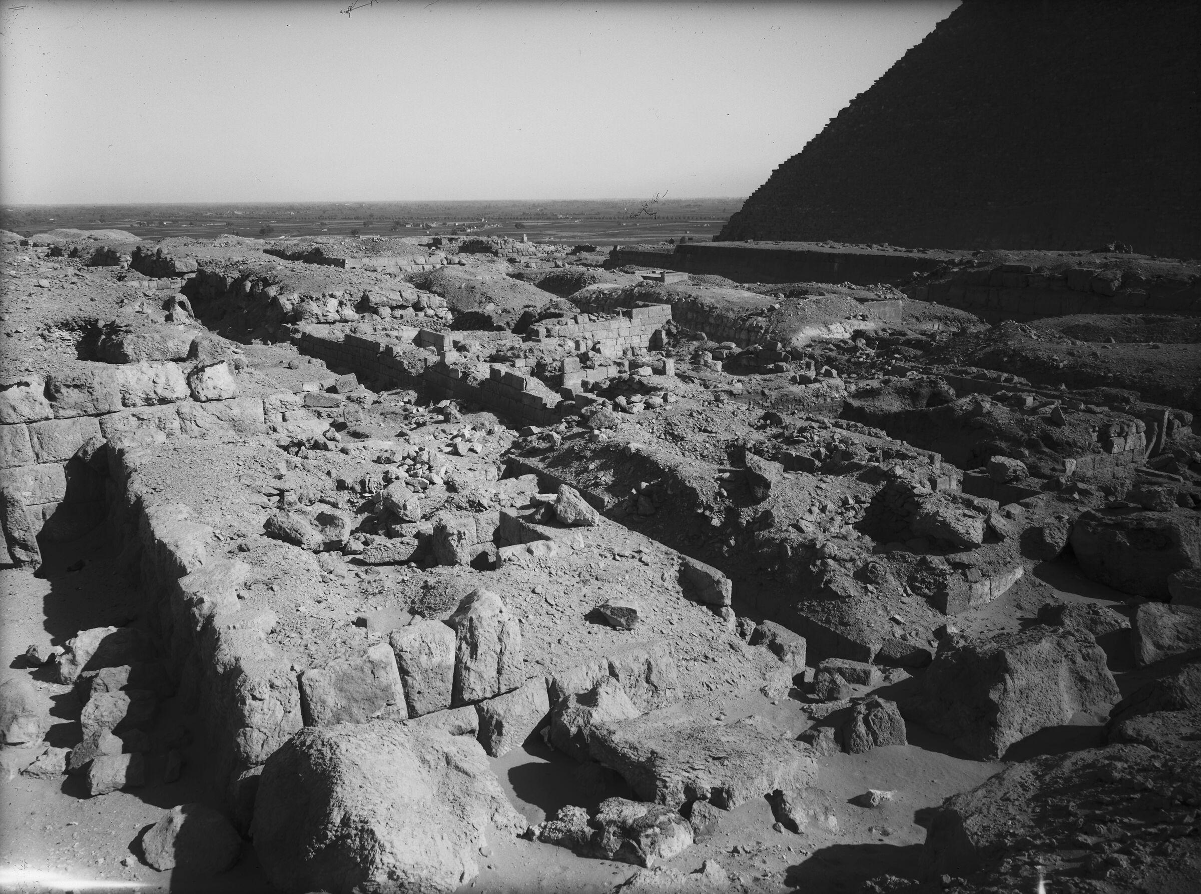 Western Cemetery: Site: Giza; View: G 4710, G 4712, G 4714, G 4810, G 4811+4812, G 4813
