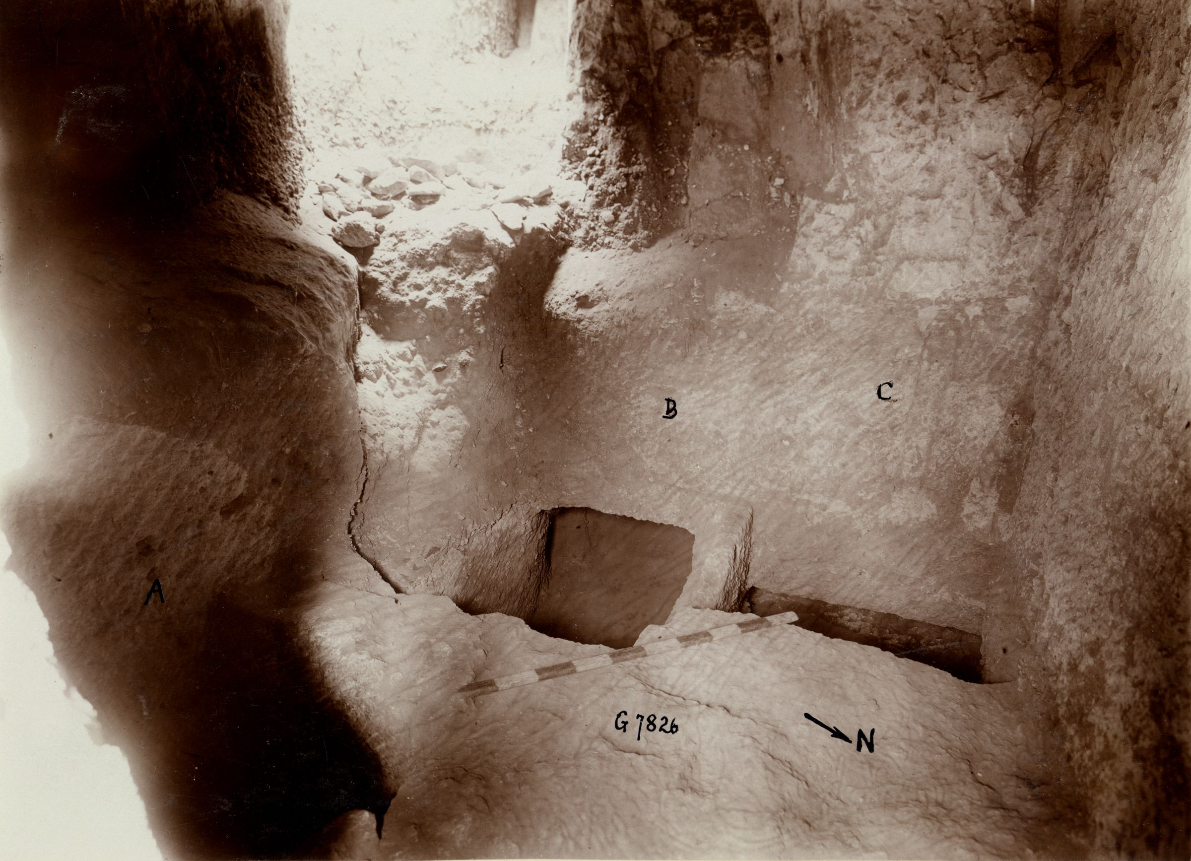 Eastern Cemetery: Site: Giza; View: G 7826