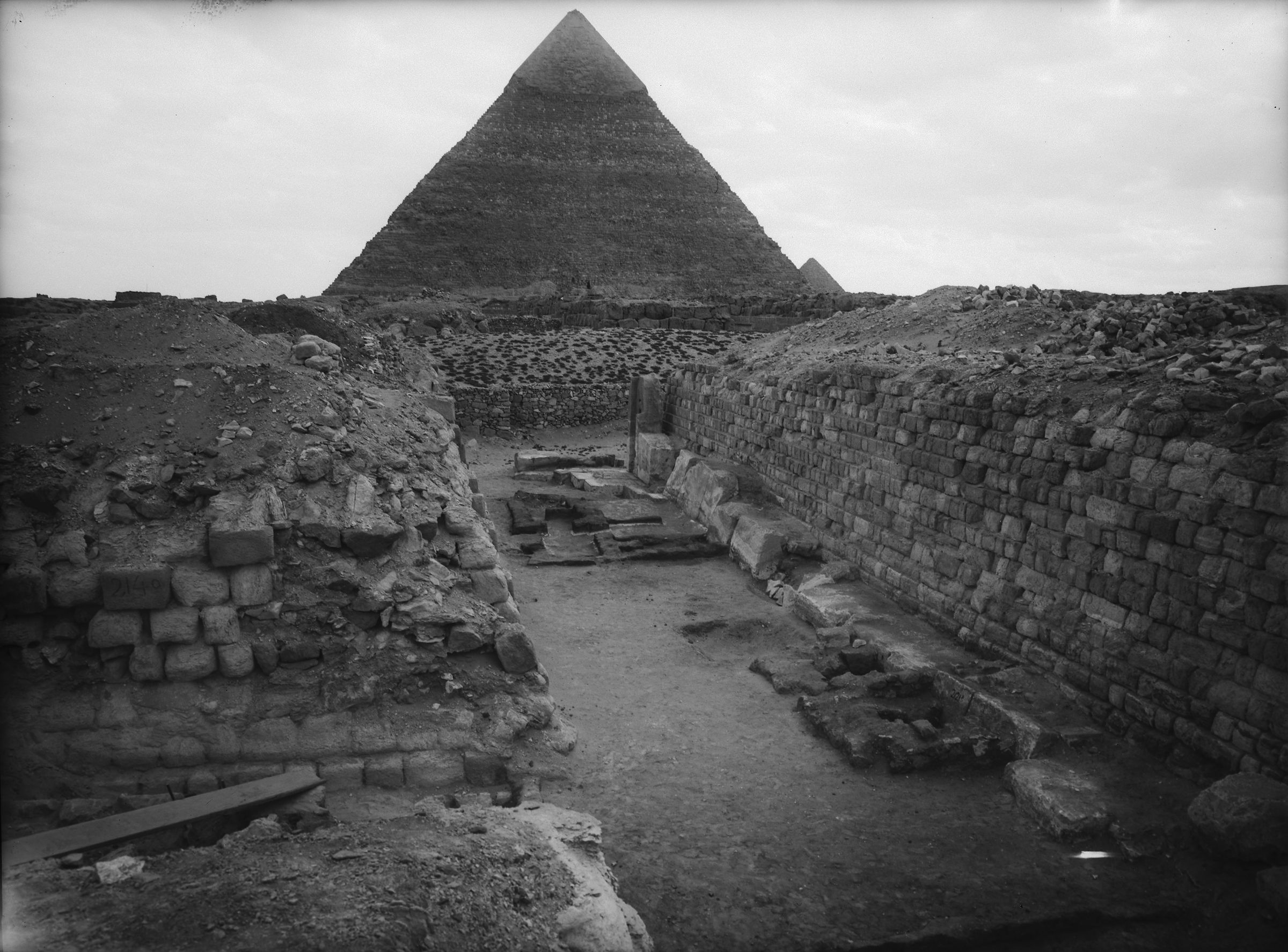 Western Cemetery: Site: Giza; View: G 2120, G 2140, G 2121
