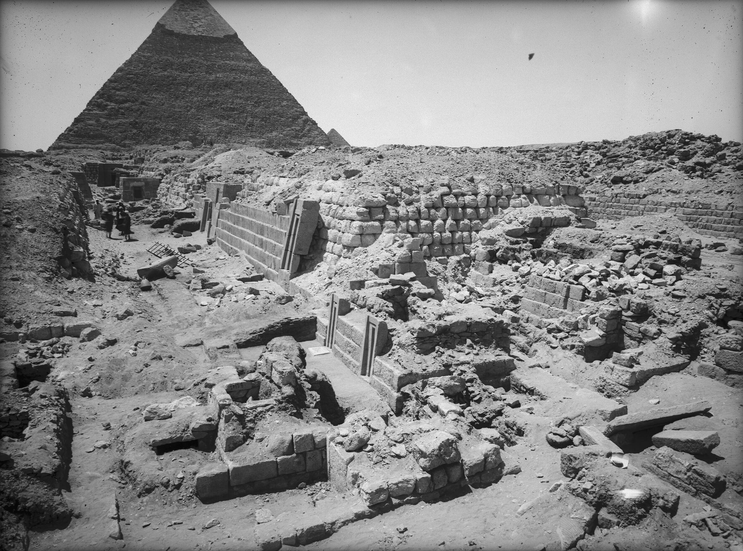 Western Cemetery: Site: Giza; View: G 2170, G 2150, G 2154, G 2153, G 2152, G 2151, G 2136', G 2134a, G 2132, G 2138