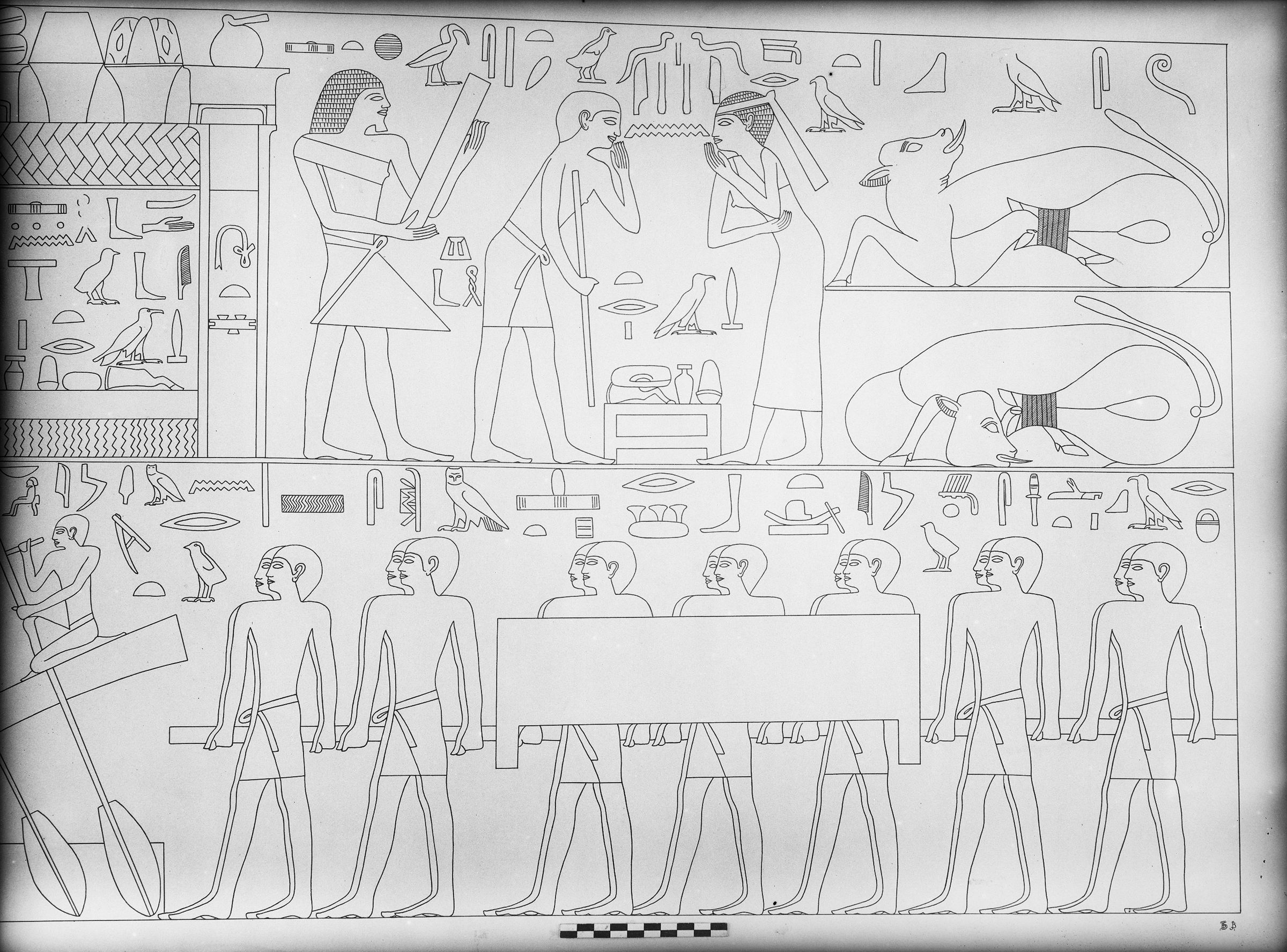 Object(s) photograph: Site: Giza; view: G 7101