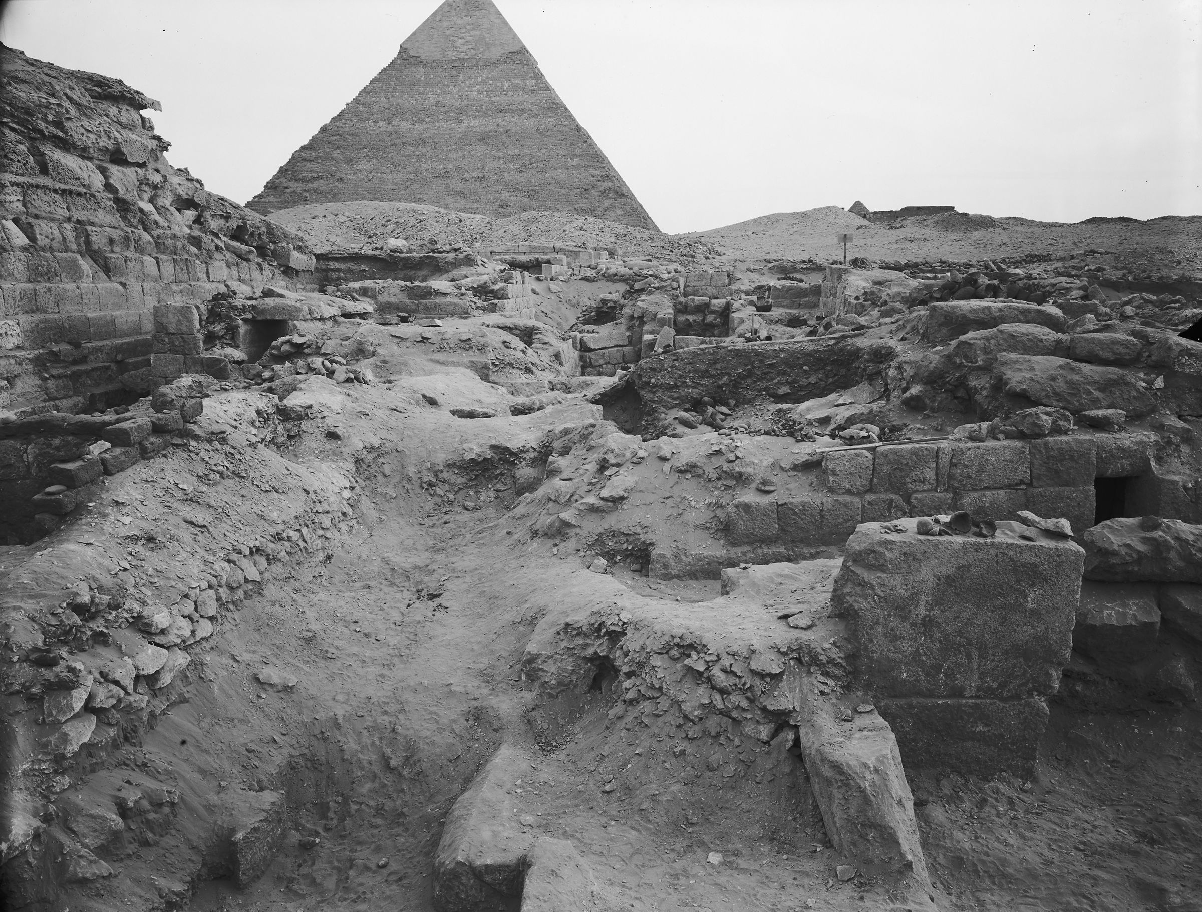 Western Cemetery: Site: Giza; View: G 1025, G 1027
