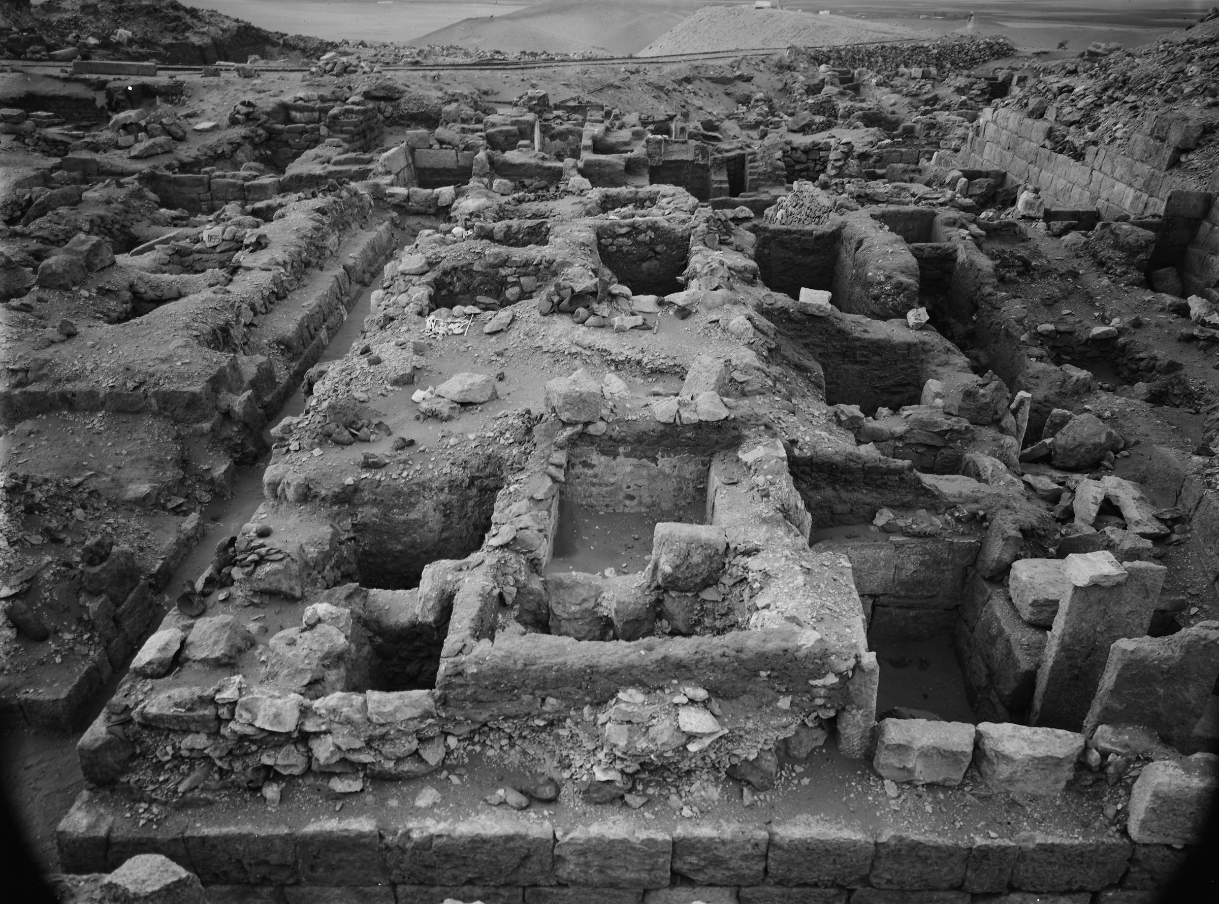 Western Cemetery: Site: Giza; View: G 1103, G 1104+1105