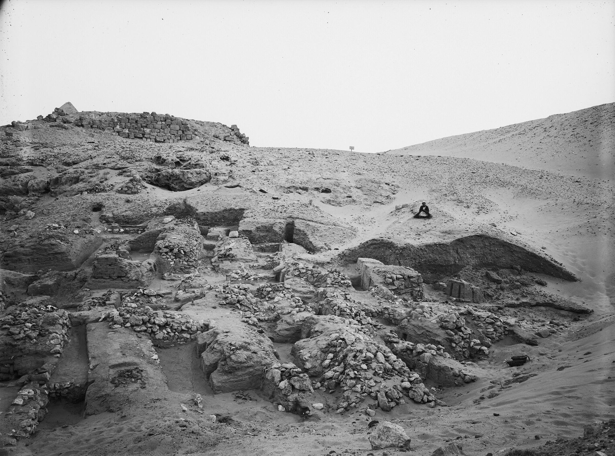 Wadi Cemetery (Reisner; north of W. Cem): Site: Giza; View: GW 16, GW 31, GW 32, GW 33, GW 34, GW 35, GW 36, GW 37, GW 38, GW 39, GW 40, GW 41, GW 42, GW 43, GW 44, GW 57, GW 58, GW 59, GW 60, GW 62, GW 63, GW 75