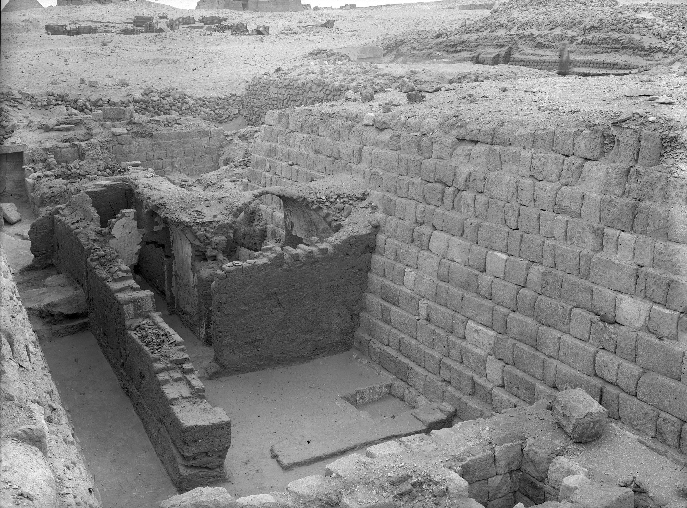 Western Cemetery: Site: Giza; View: G 1203, G 1201