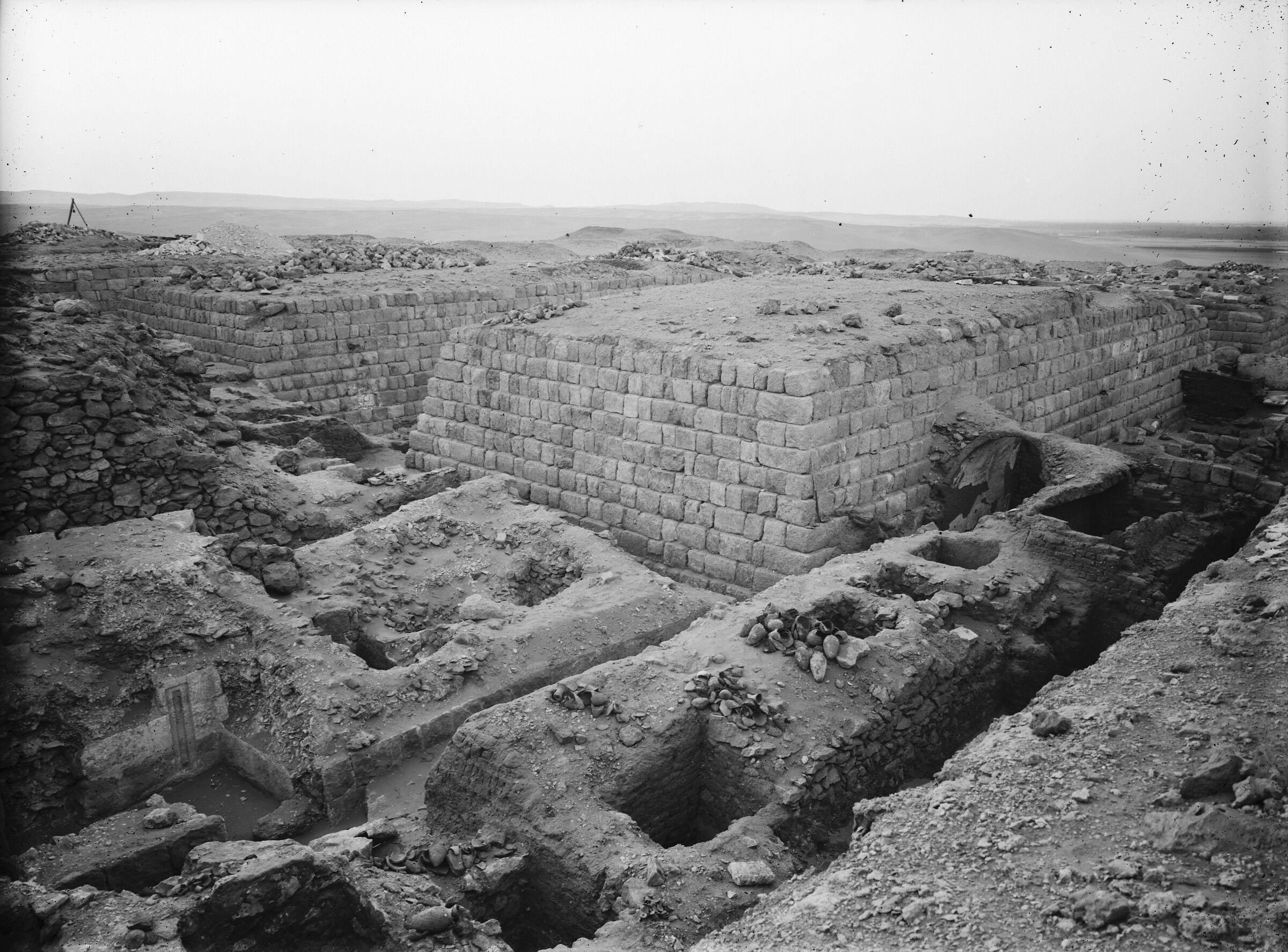 Western Cemetery: Site: Giza; View: G 1366, G 1364, G 1365, G 1360, G 1203, G 1205