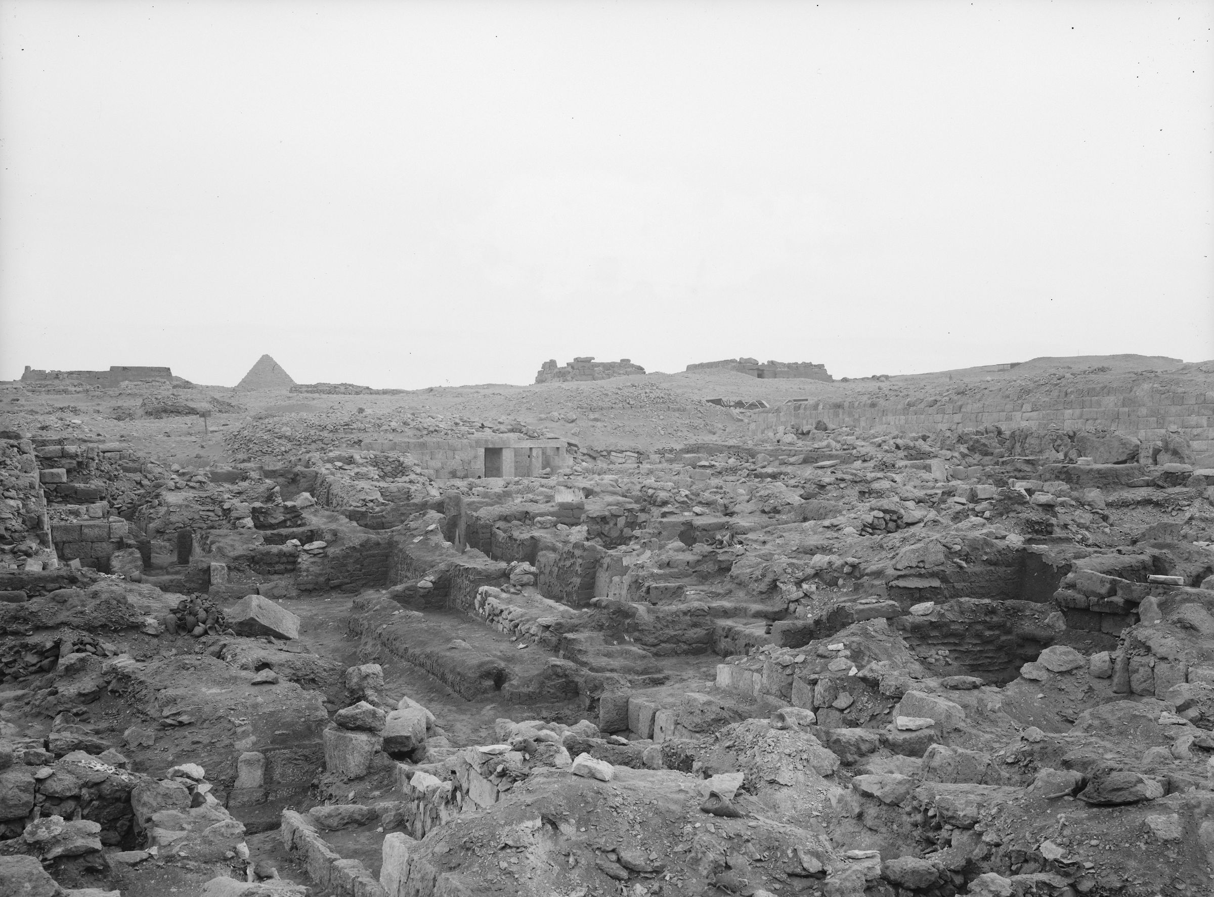 Western Cemetery: Site: Giza; View: G 1109, G 1115, G 1177