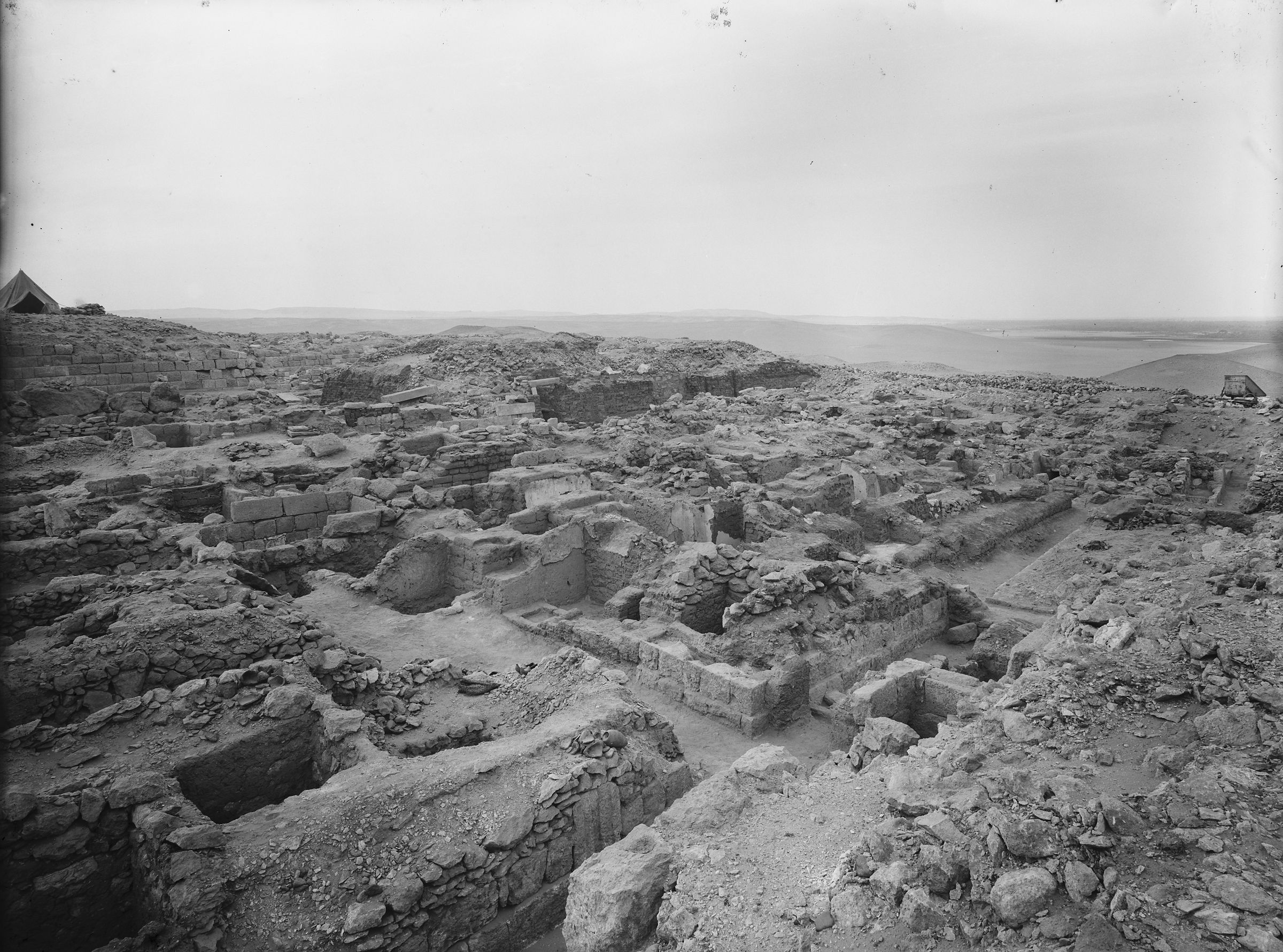 Western Cemetery: Site: Giza; View: G 1106, G 1107, G 1108, G 1109
