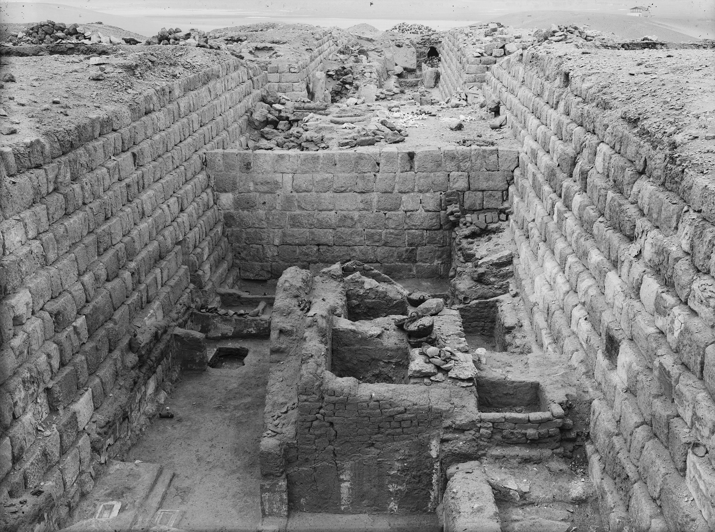 Western Cemetery: Site: Giza; View: G 1204, G 1203, G 1205, G 1367