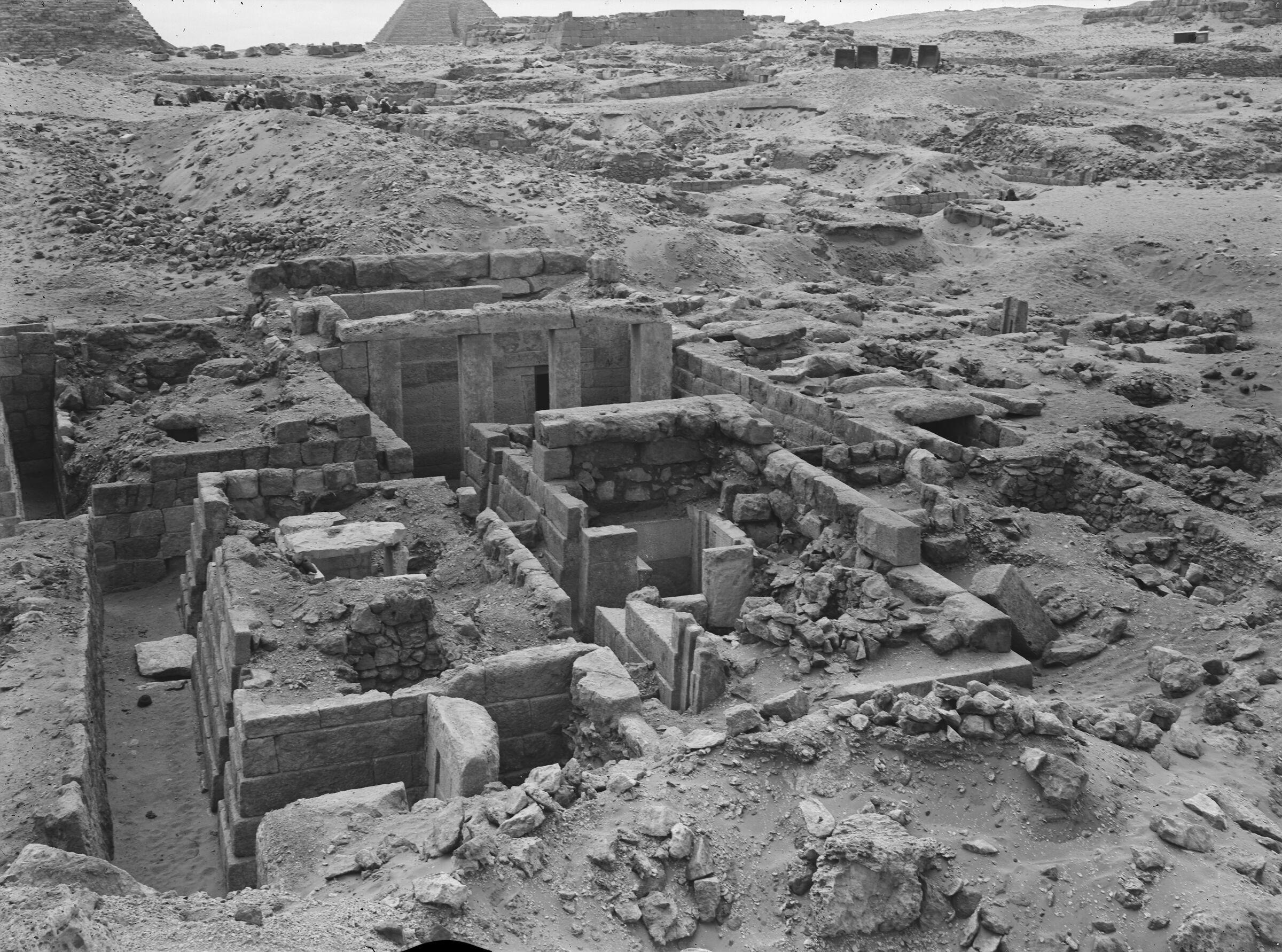 Western Cemetery: Site: Giza; View: D 202, S 203, D 210, D 208, D 207