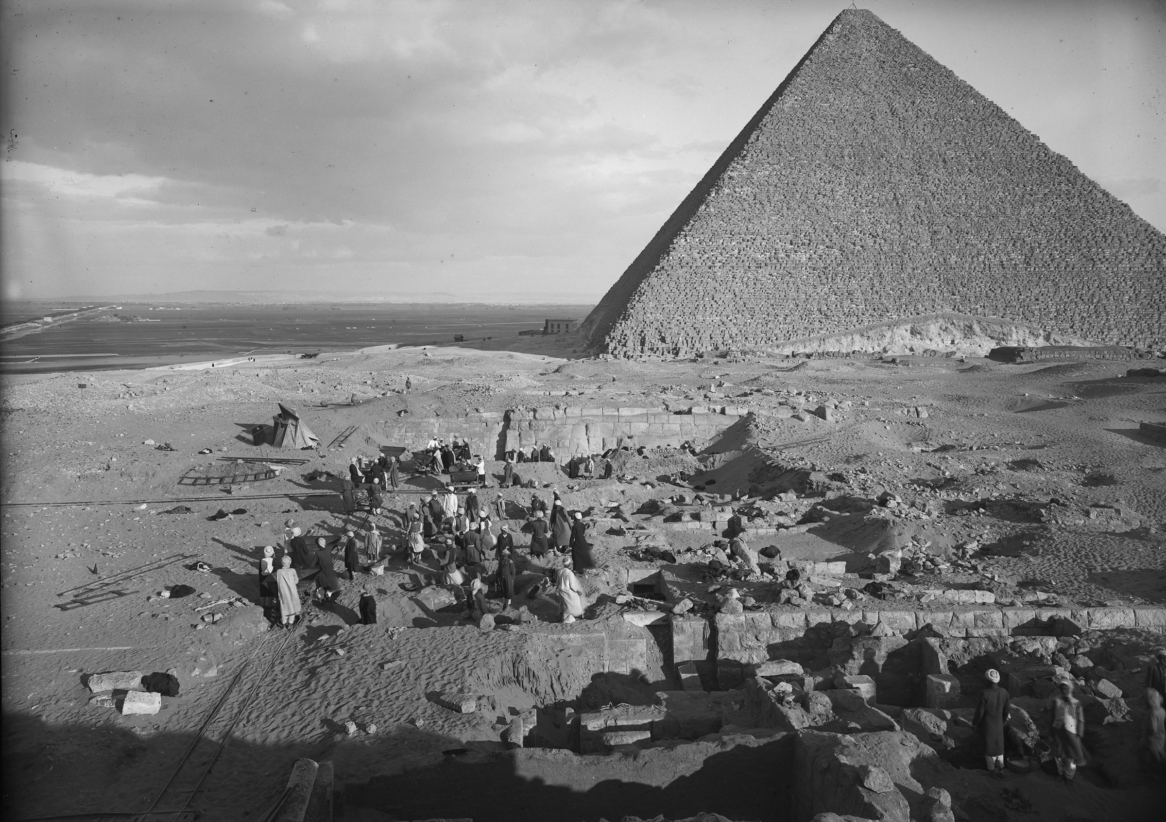 Western Cemetery: Site: Giza; View: G 2006, G 2007, G 2005