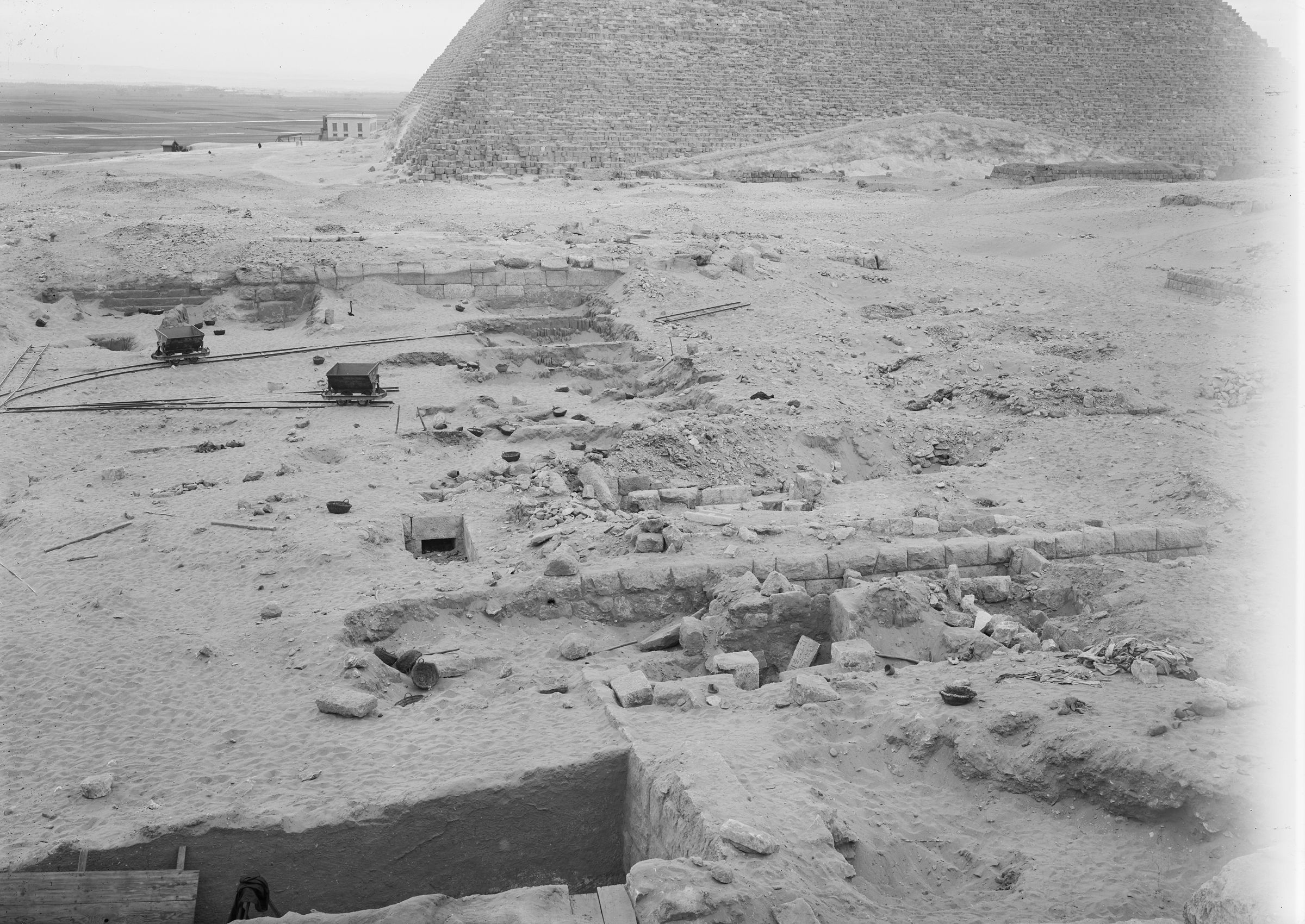 Western Cemetery: Site: Giza; View: G 2003, G 2004, G 2005