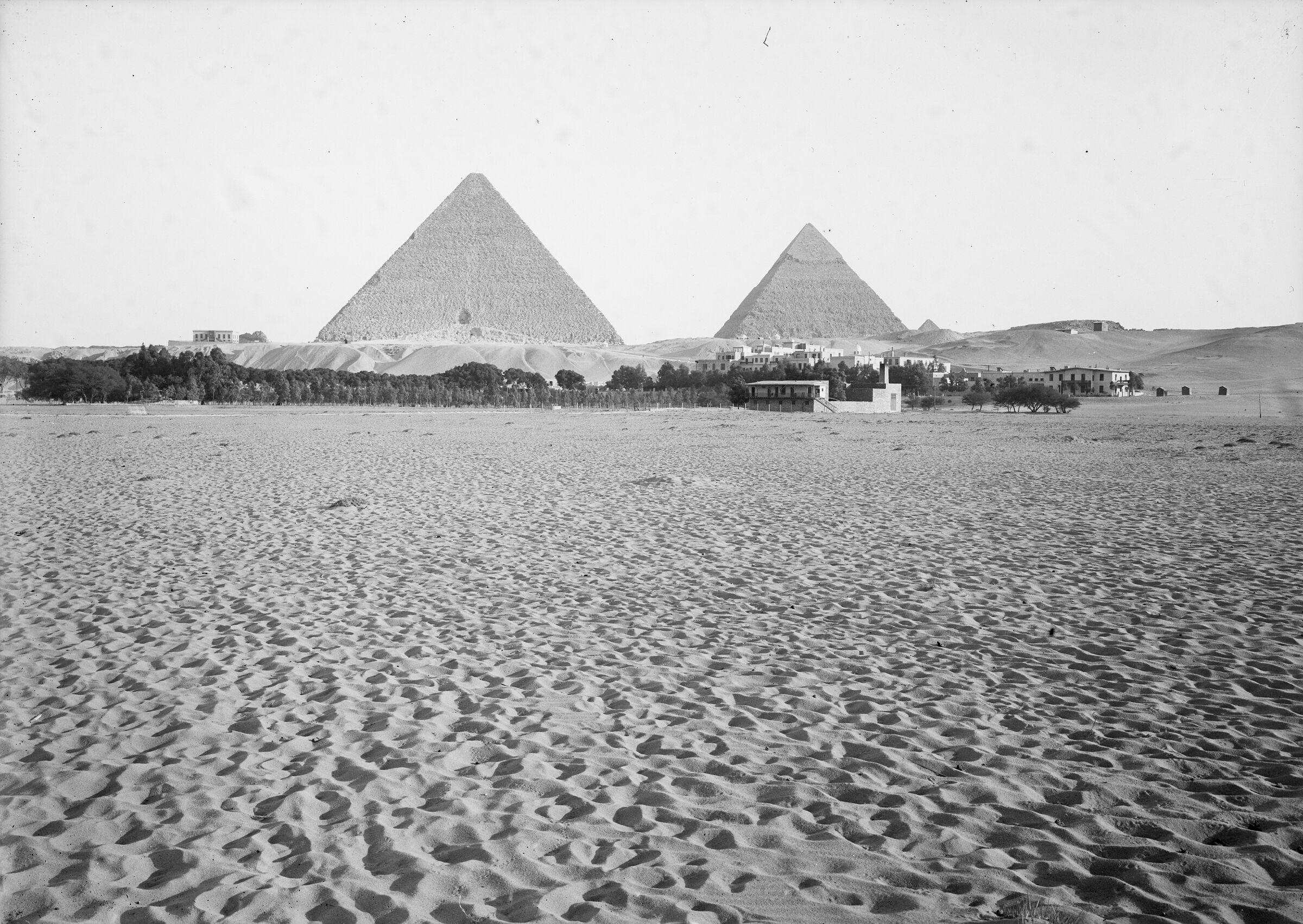 General view: Site: Giza; View: Giza, Mena House