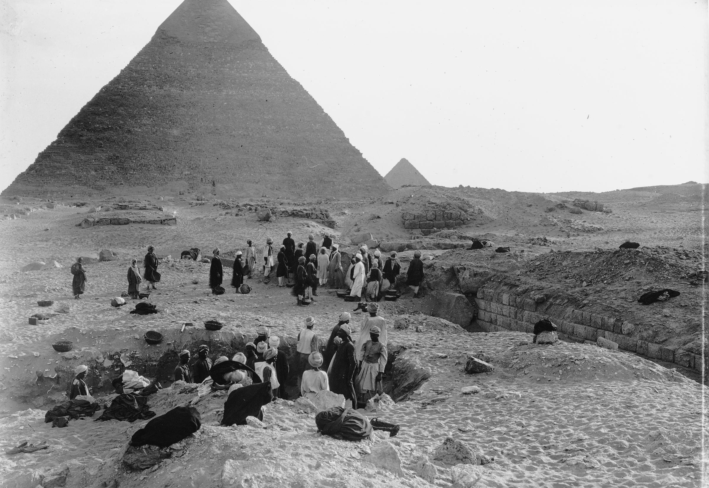 Western Cemetery: Site: Giza; View: G 2100, G 2100-I, G 2120, G 2130