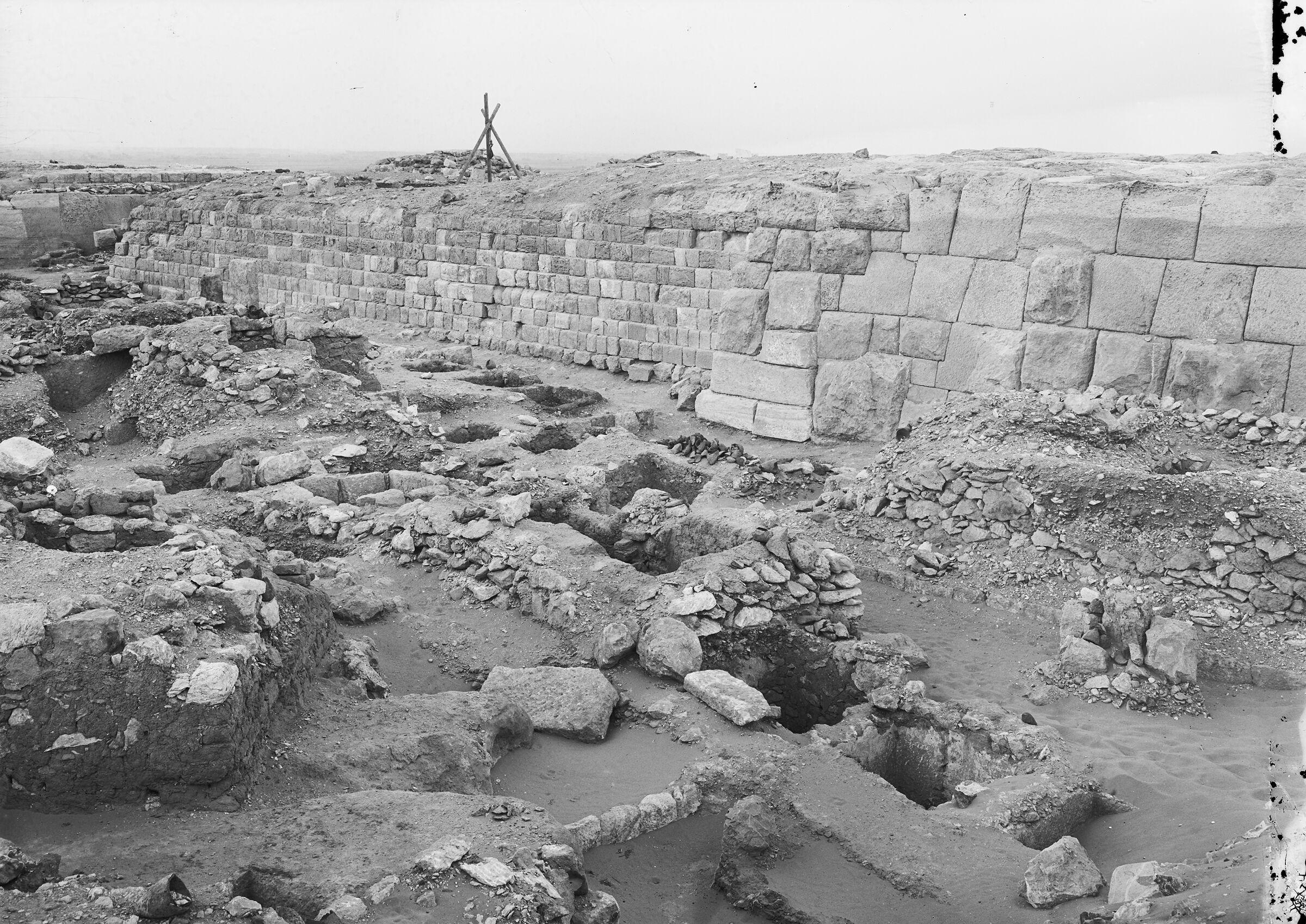 Western Cemetery: Site: Giza; View: G 2100, G 2100-I, G 2017, G 2024, G 2016, G 2020
