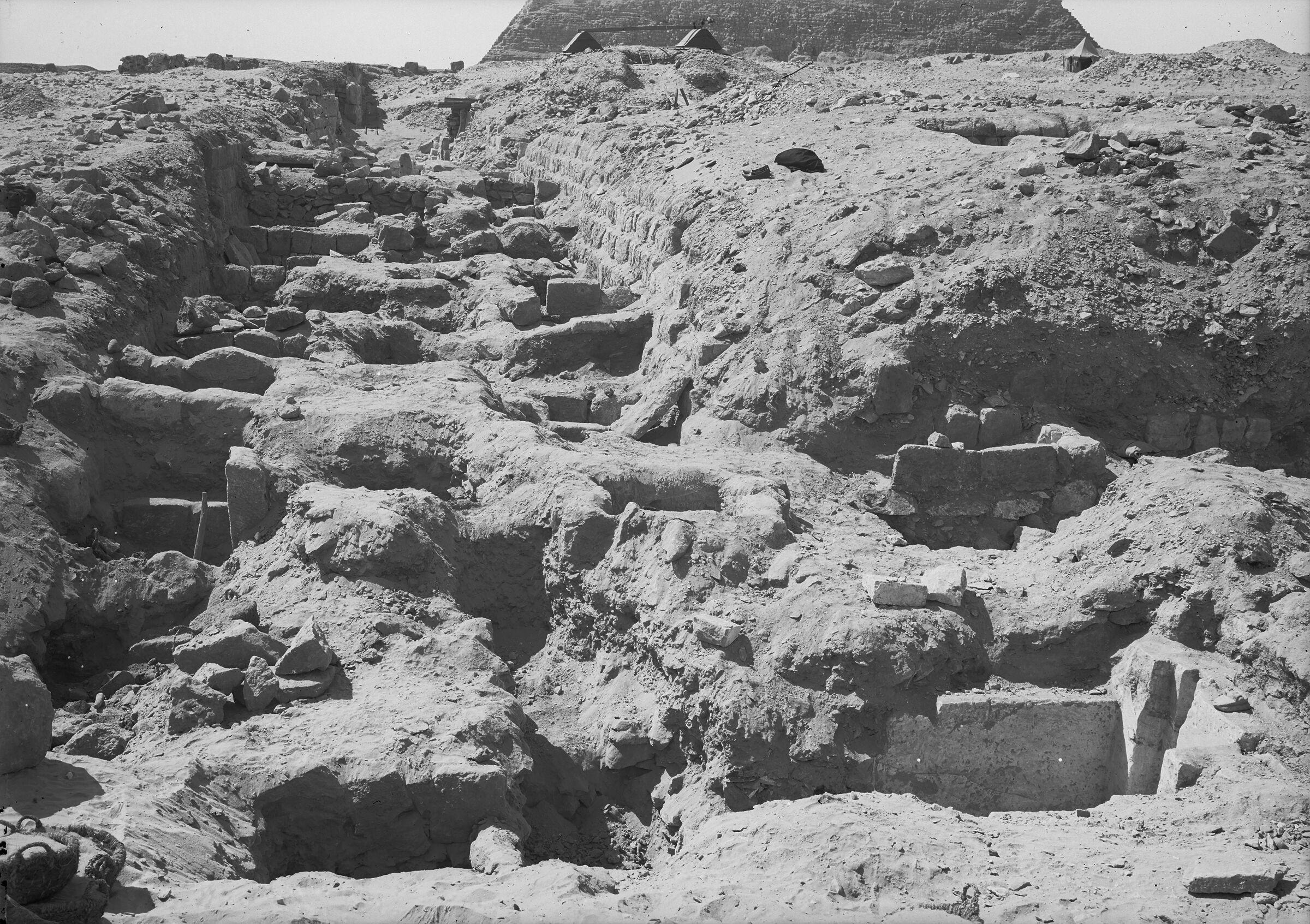 Western Cemetery: Site: Giza; View: G 2190 = G 5090, G 2194, G 2193, G 2192, G 2191