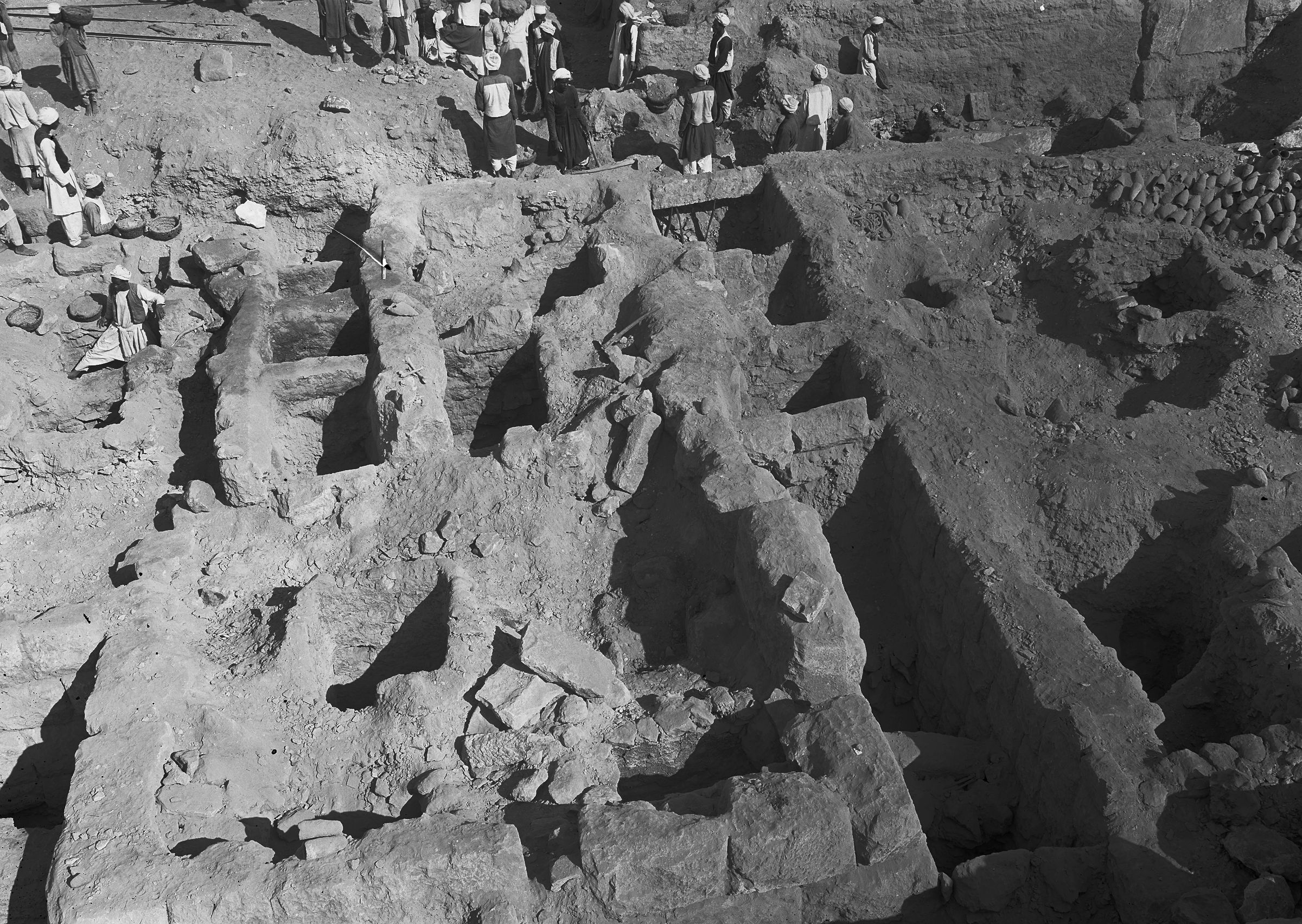 Western Cemetery: Site: Giza; View: G 2335, G 2336, G 2337