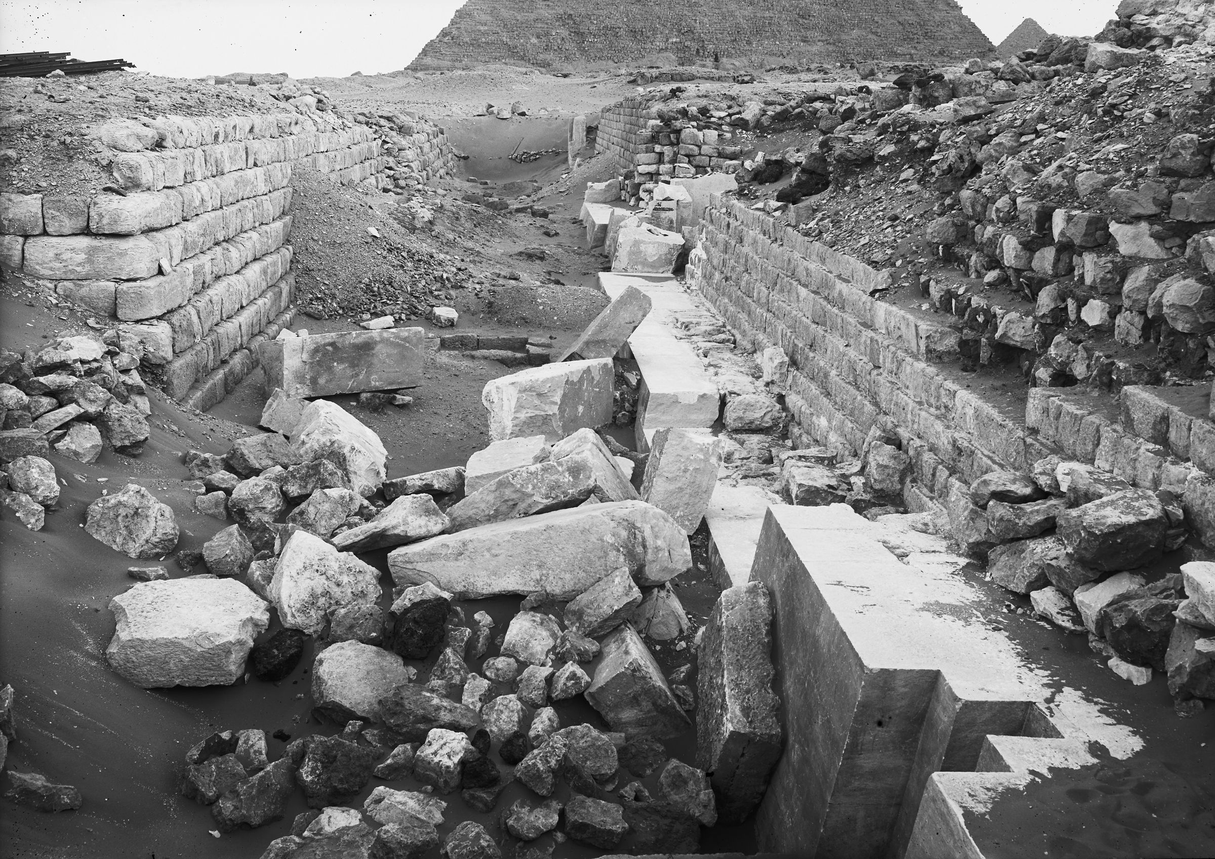 Western Cemetery: Site: Giza; View: G 2130, G 2120, G 2150, G 2140