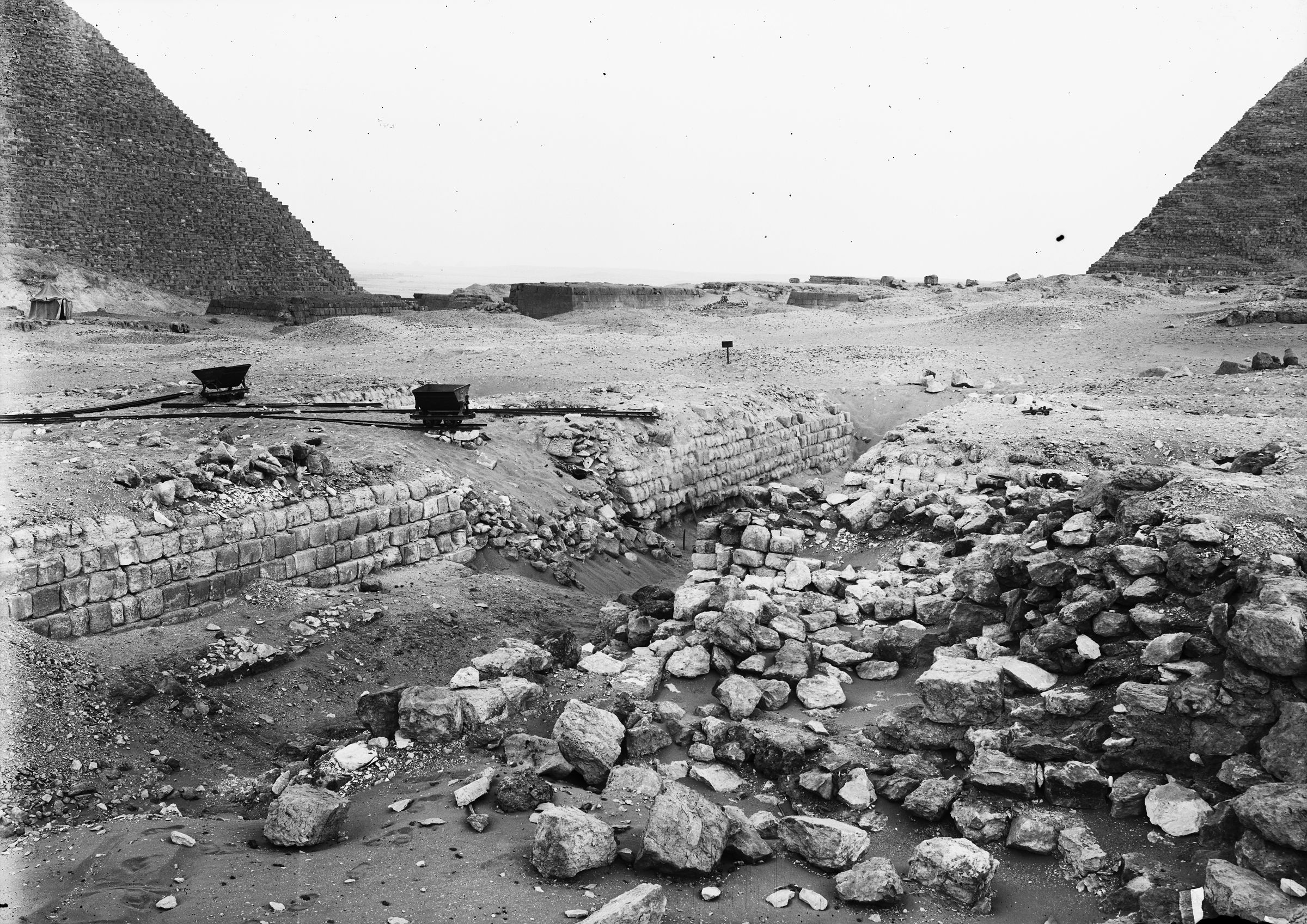 Western Cemetery: Site: Giza; View: G 2130, G 2150, G 2140