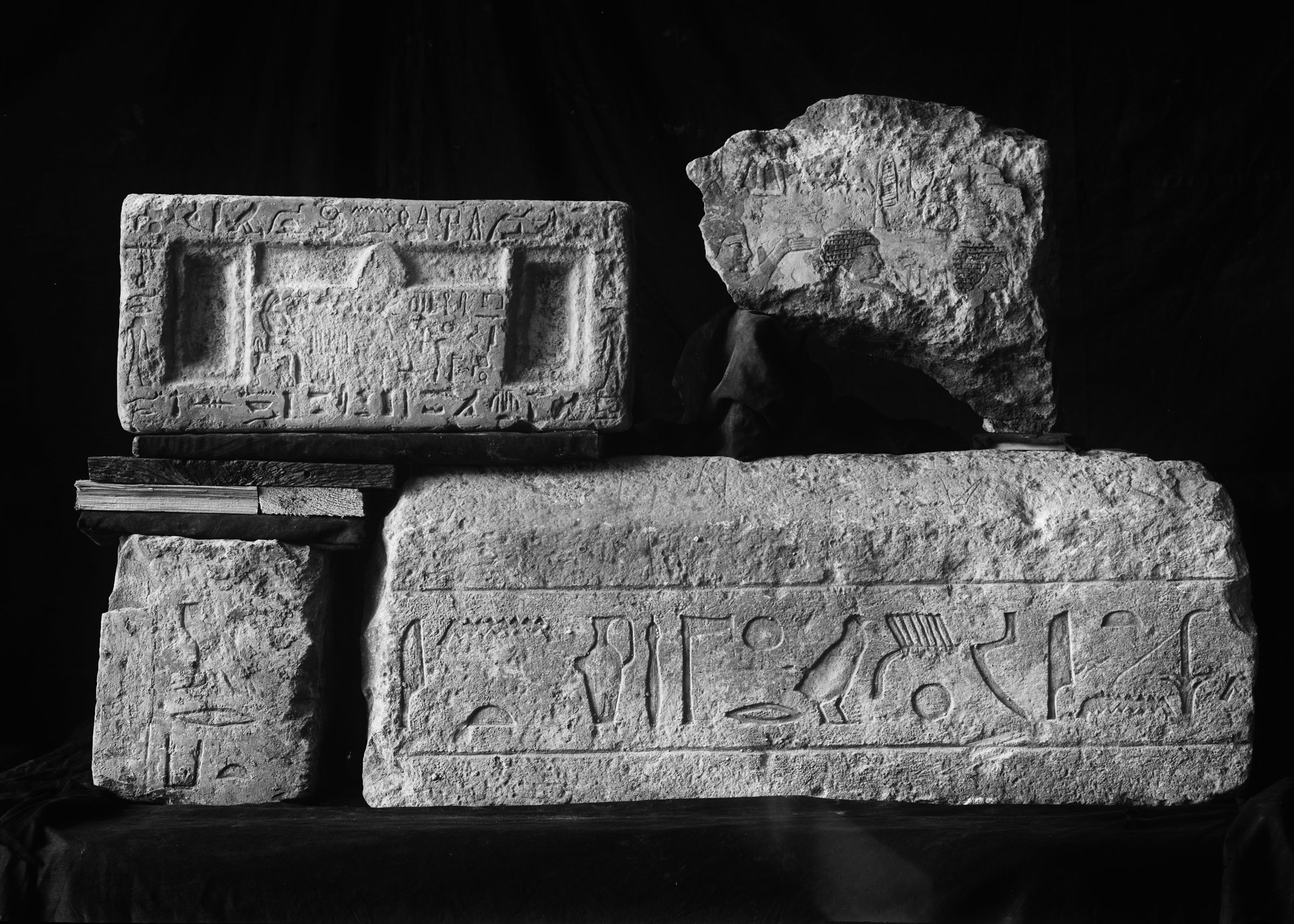 Object(s) photograph: Site: Giza; view: G 2399, G 2381, G 2374, G 2421, G 2461'