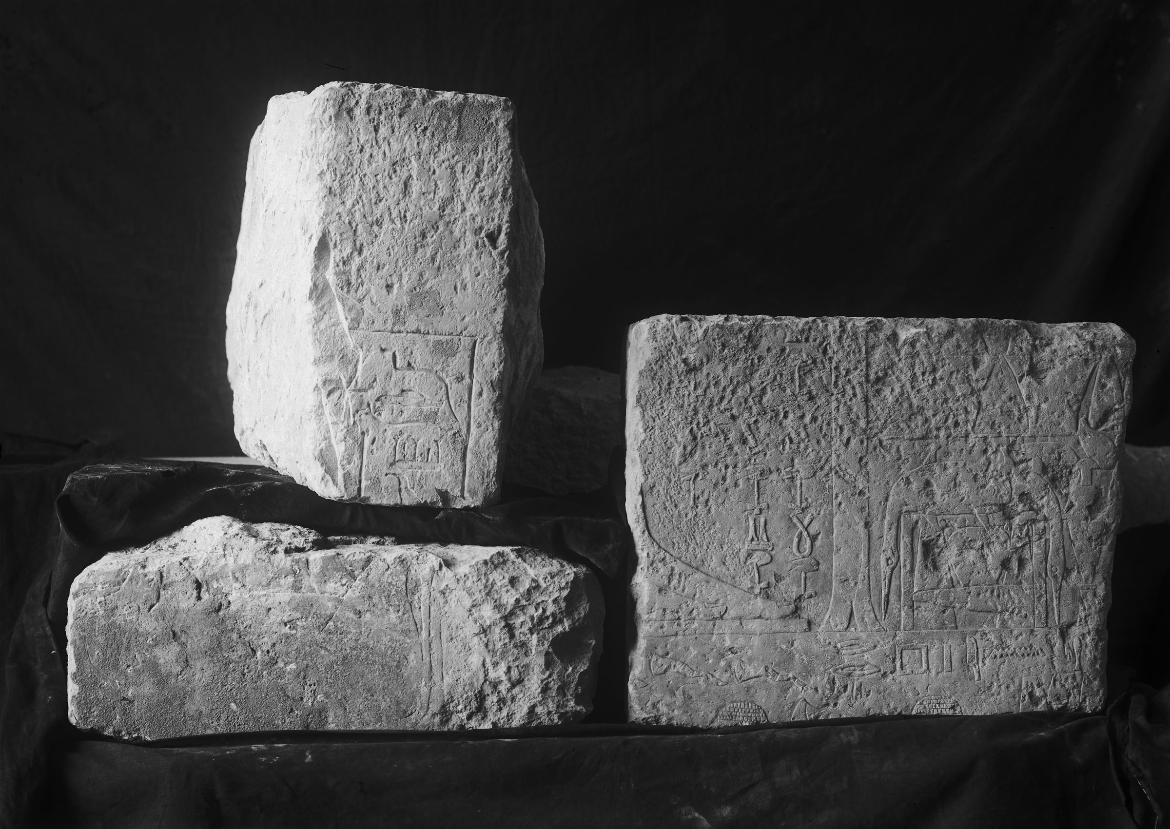 Object(s) photograph: Site: Giza; view: G 2461', G 2381, G 2382