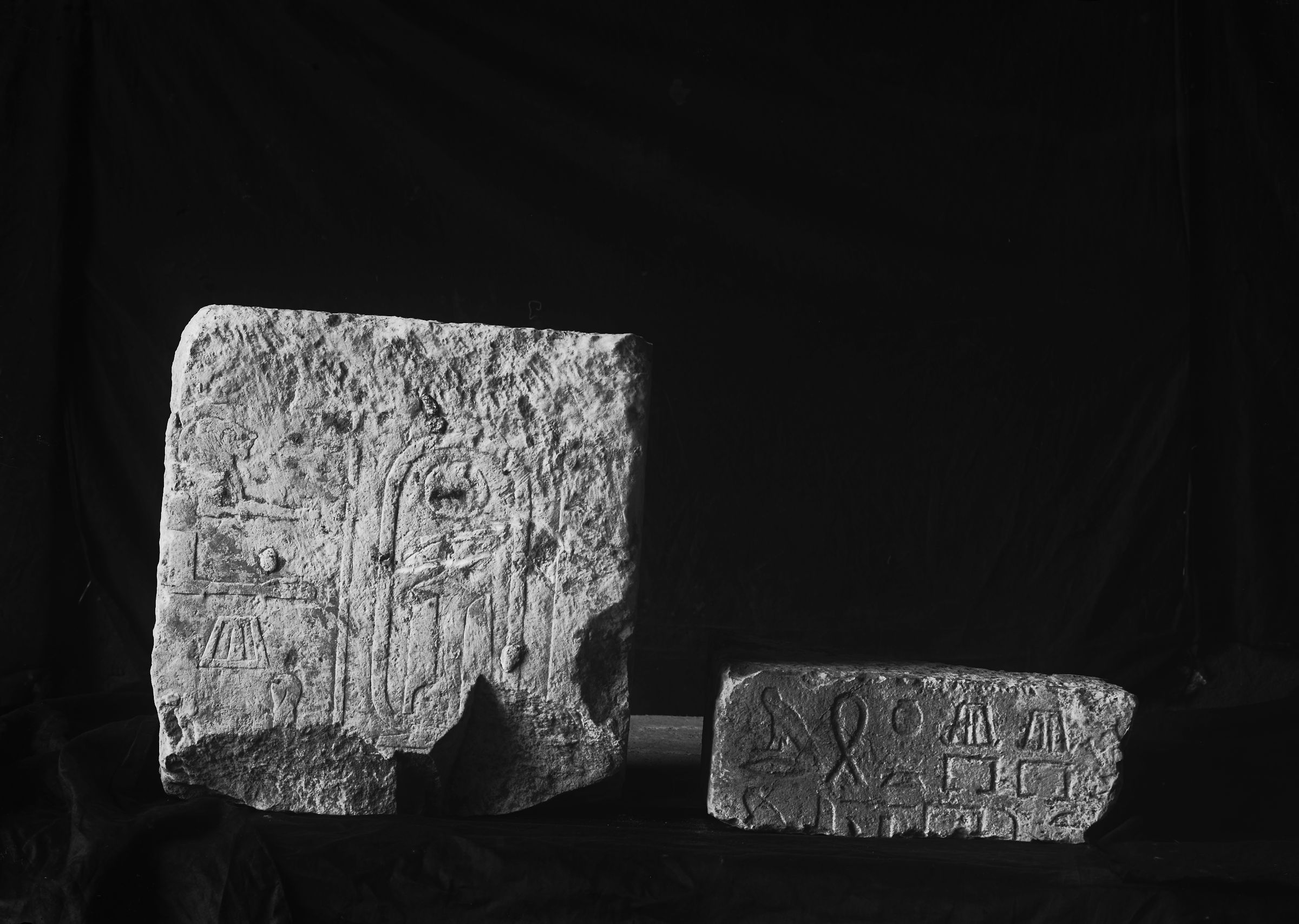 Object(s) photograph: Site: Giza; view: G 2382, G 2370, G 2381