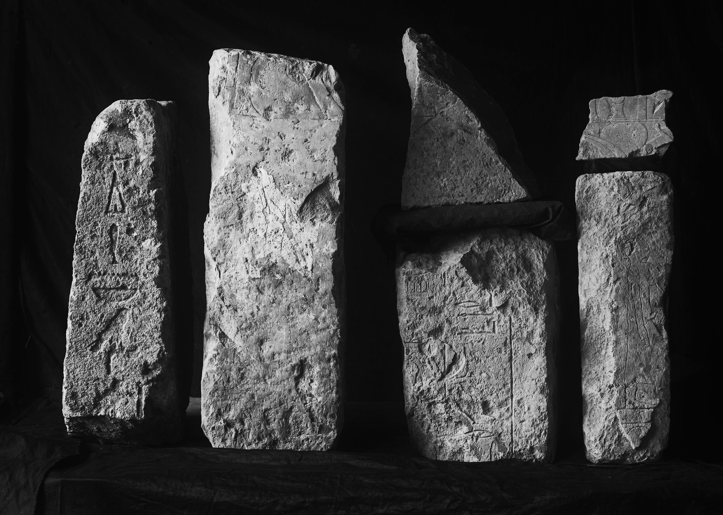 Object(s) photograph: Site: Giza; view: G 2382, G 2370, G 2381, G 2386, G 2461'