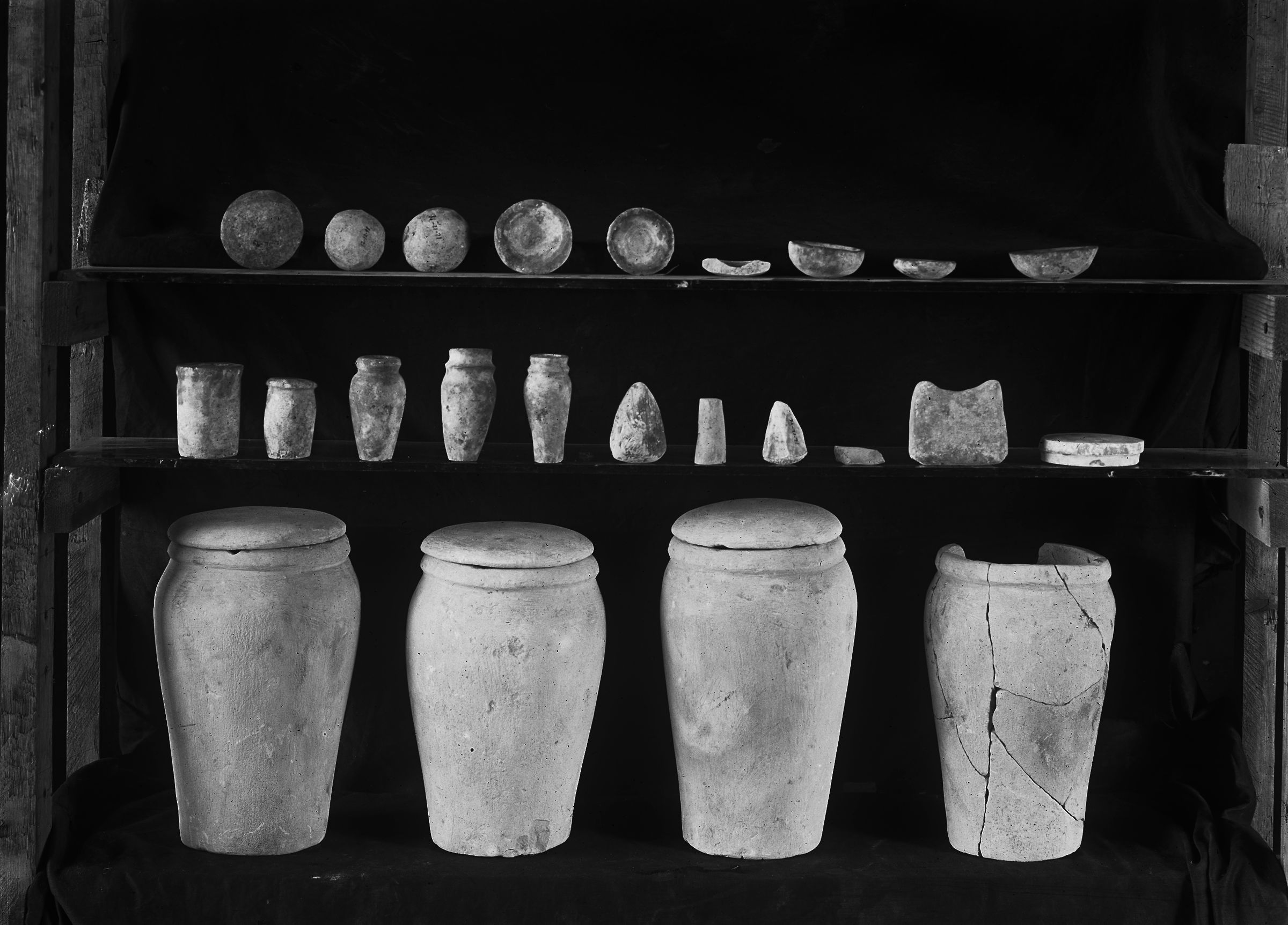 Object(s) photograph: Site: Giza; view: G 2370, G 2375, G 2385, G 2374