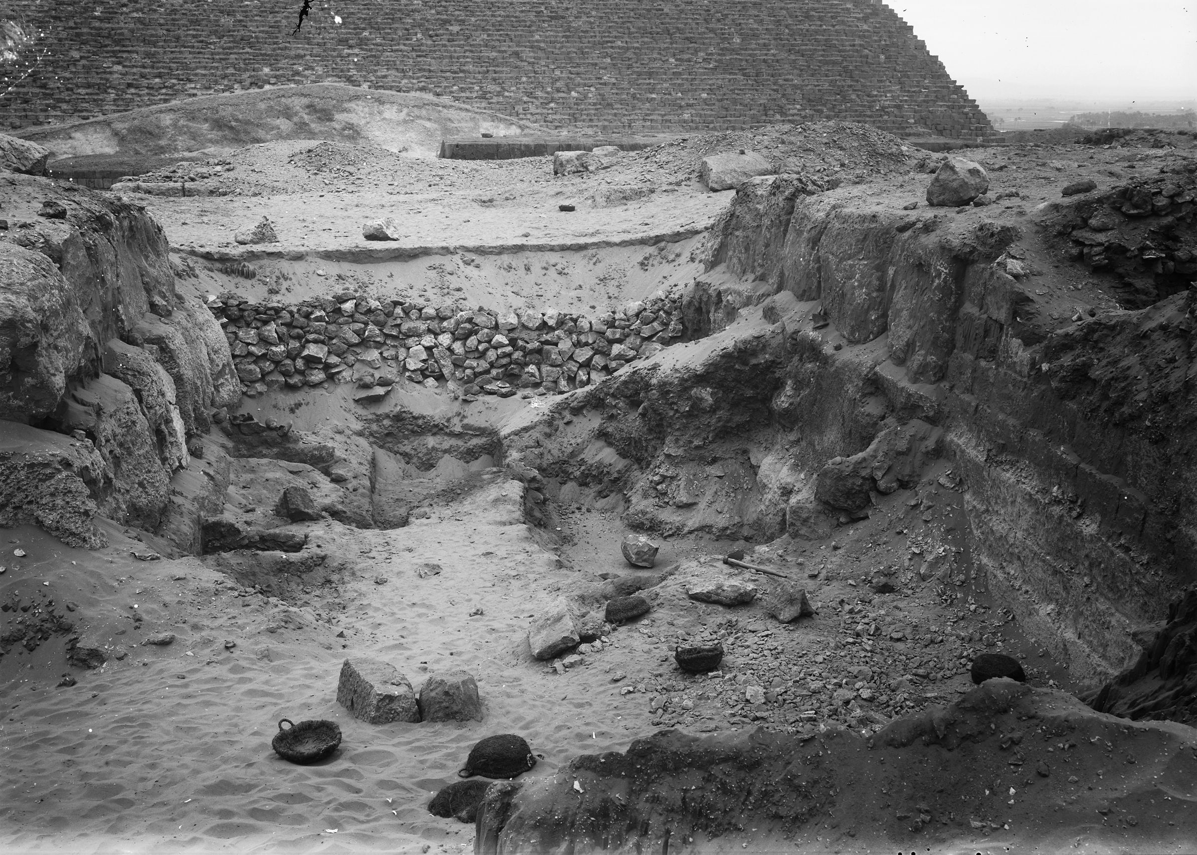 Western Cemetery: Site: Giza; View: G 4740, G 4730