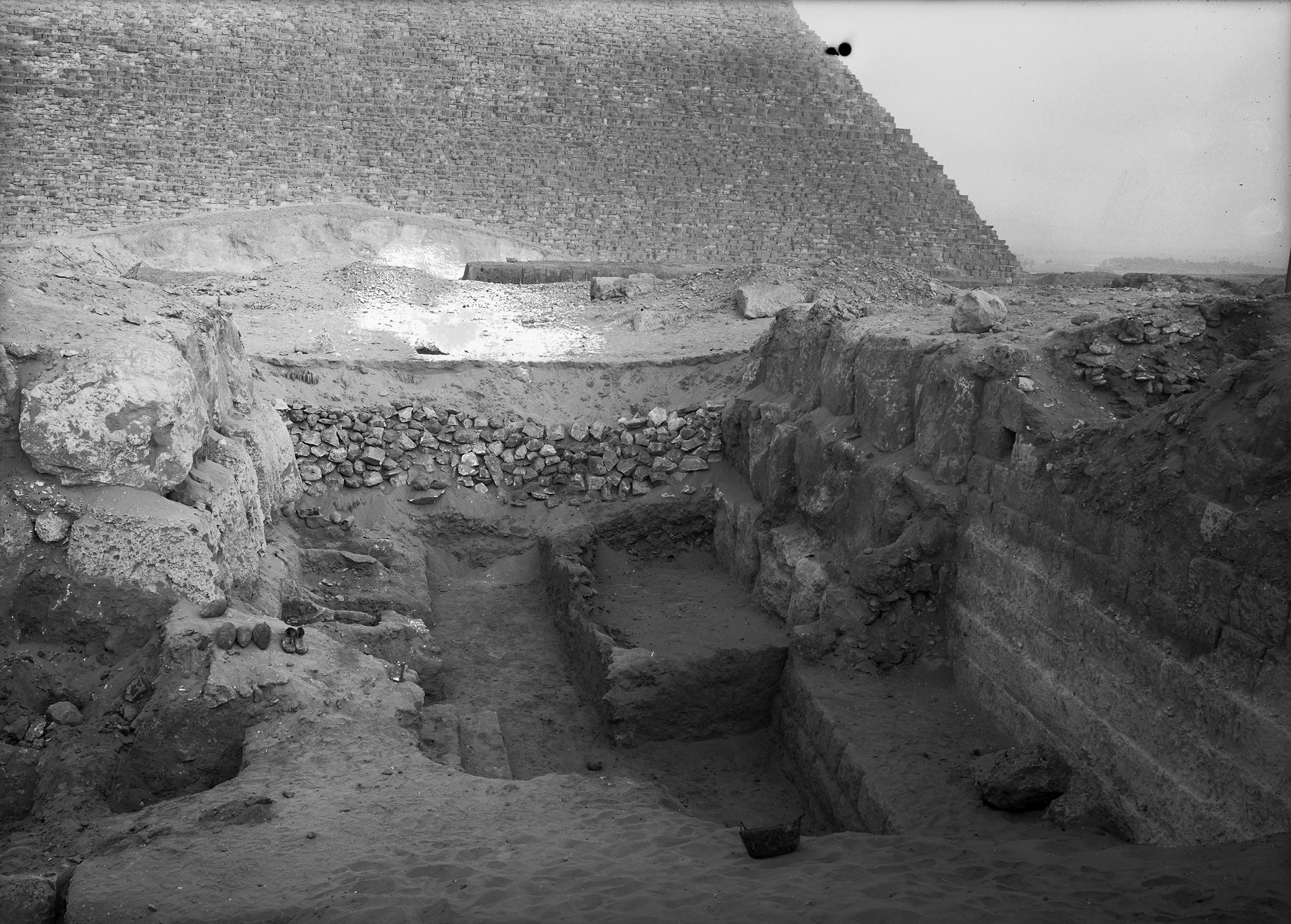 Western Cemetery: Site: Giza; View: G 4730, G 4740, G 4731, G 4732