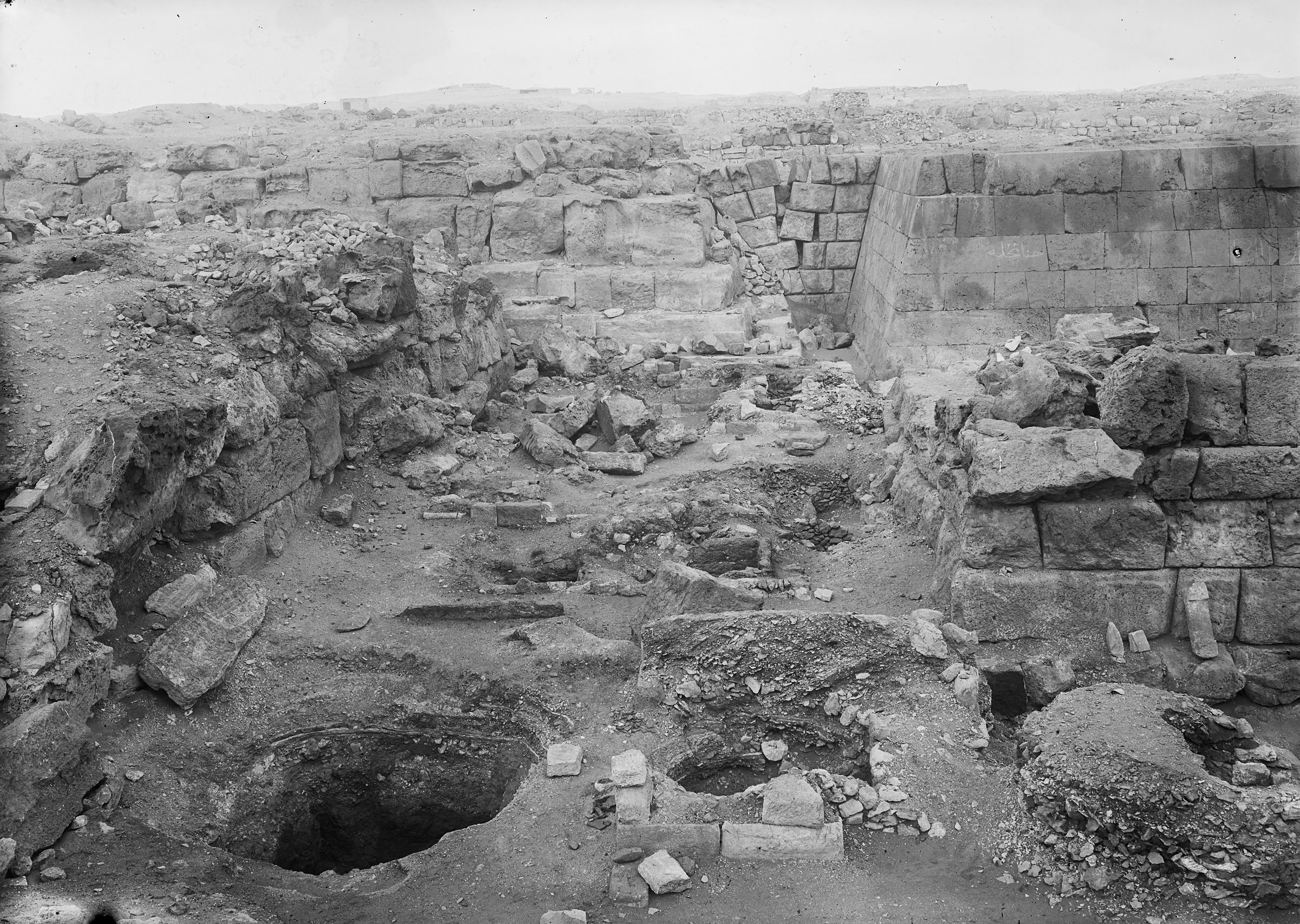 Western Cemetery: Site: Giza; View: G 5220, G 5230, G 5222, G 5223, G 5224, G 5225, G 5226