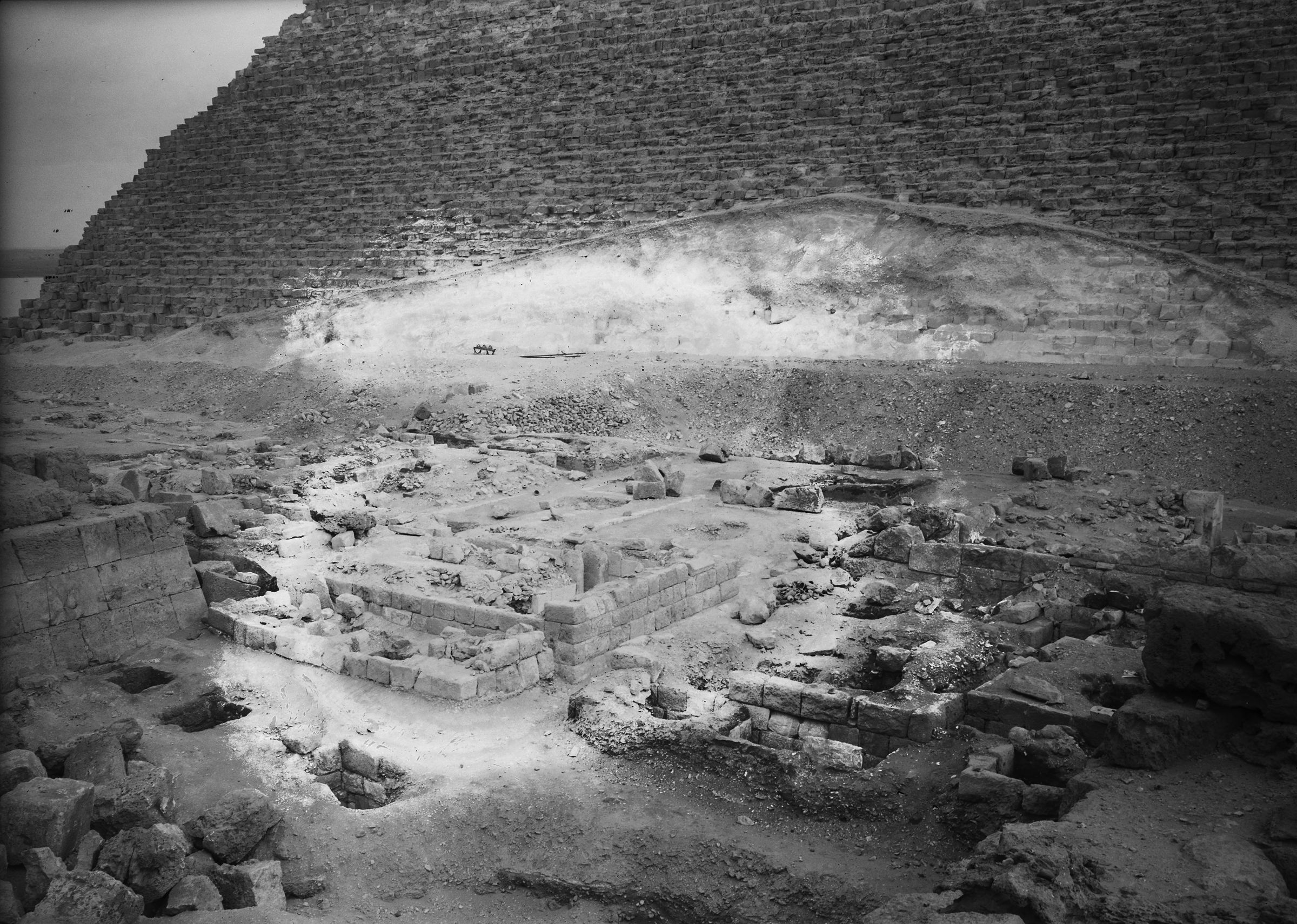 Western Cemetery: Site: Giza; View: G 5230, G 5231, G 5231a, G 5234, G 5235