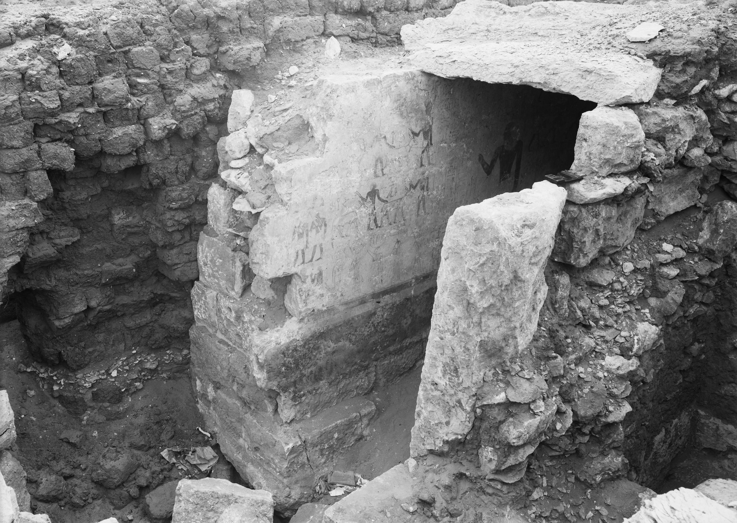 Western Cemetery: Site: Giza; View: G 3008