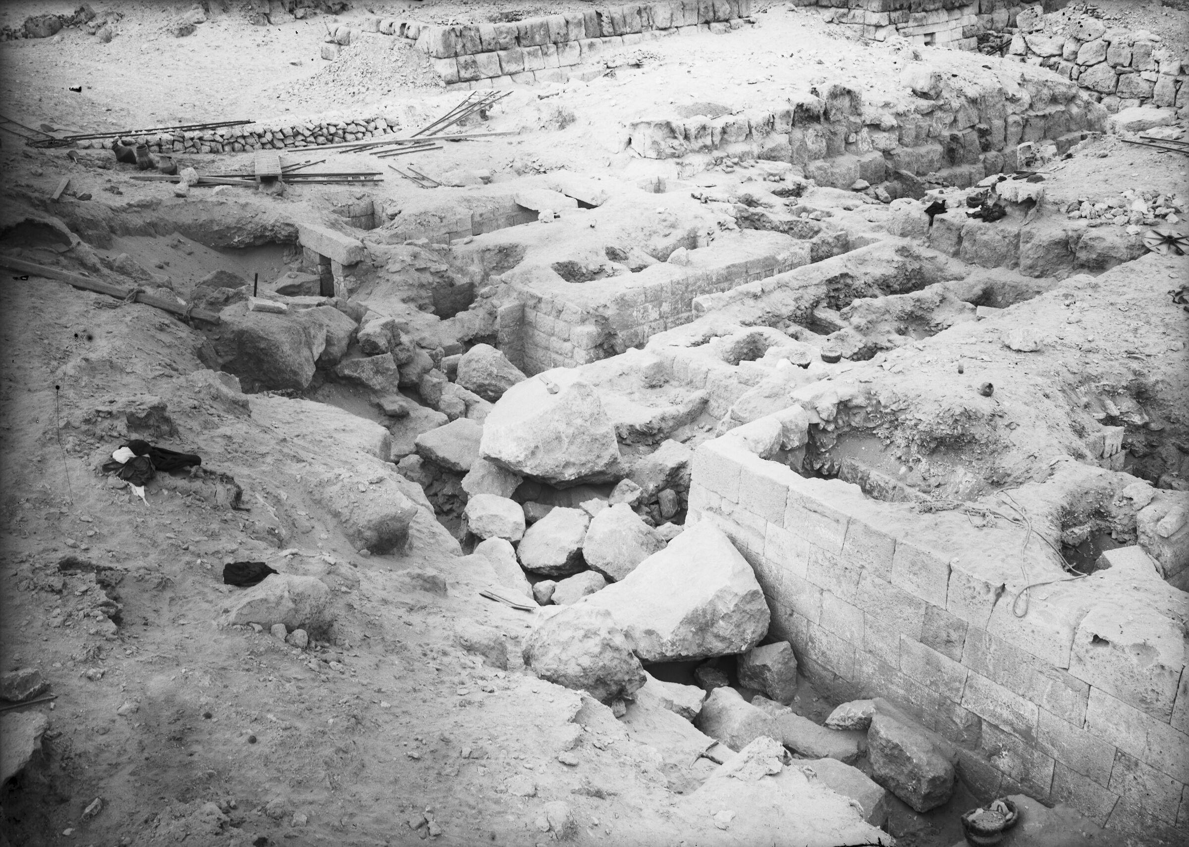 Western Cemetery: Site: Giza; View: G 4510, G 4610, G 4513, G 4512, G 4517, G 4516, G 4614, G 4615