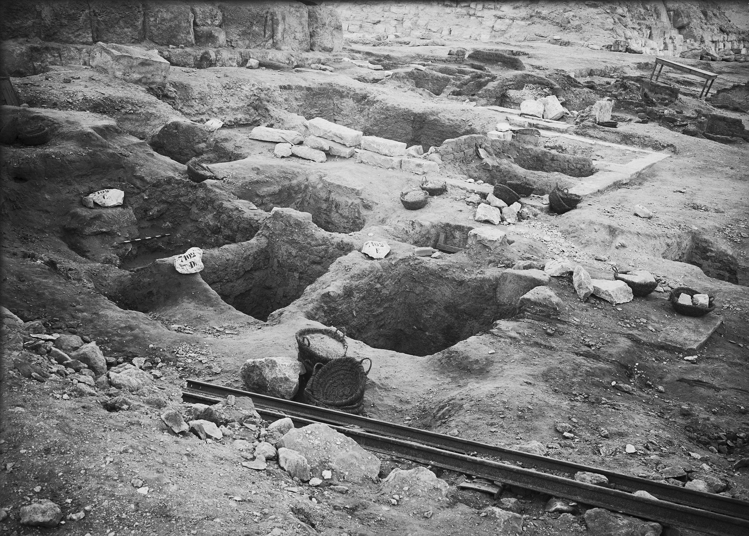 Eastern Cemetery: Site: Giza; View: G 7101, G 7102