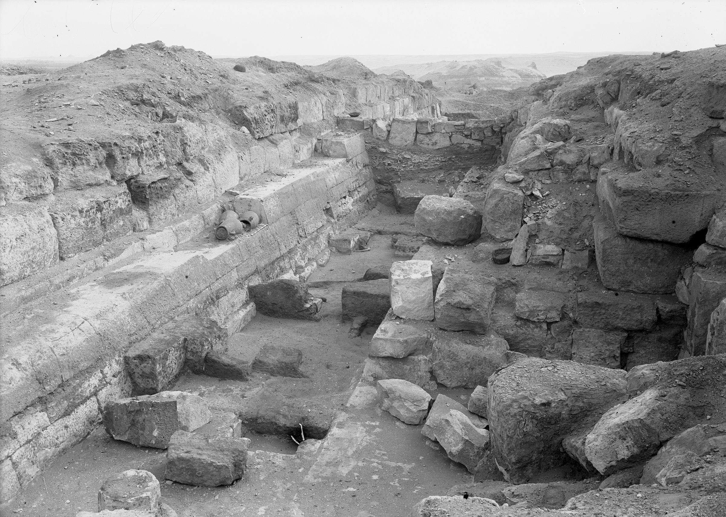 Eastern Cemetery: Site: Giza; View: street G 7300, G 7310-7320