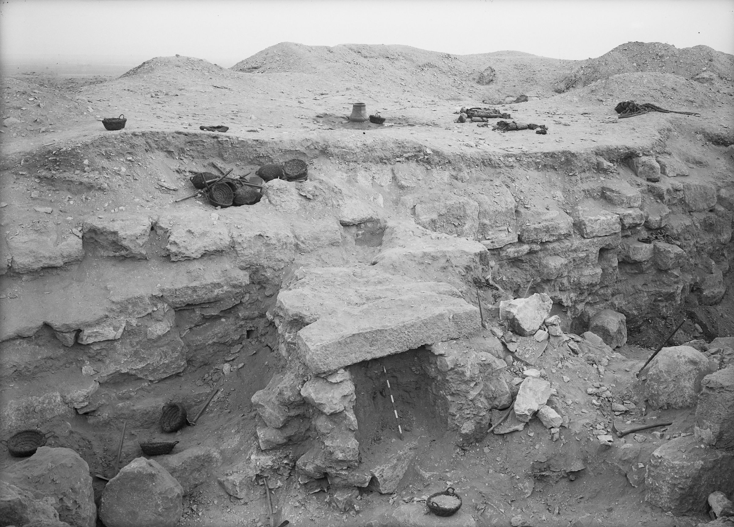 Eastern Cemetery: Site: Giza; View: street G 7400, G 7410-7420
