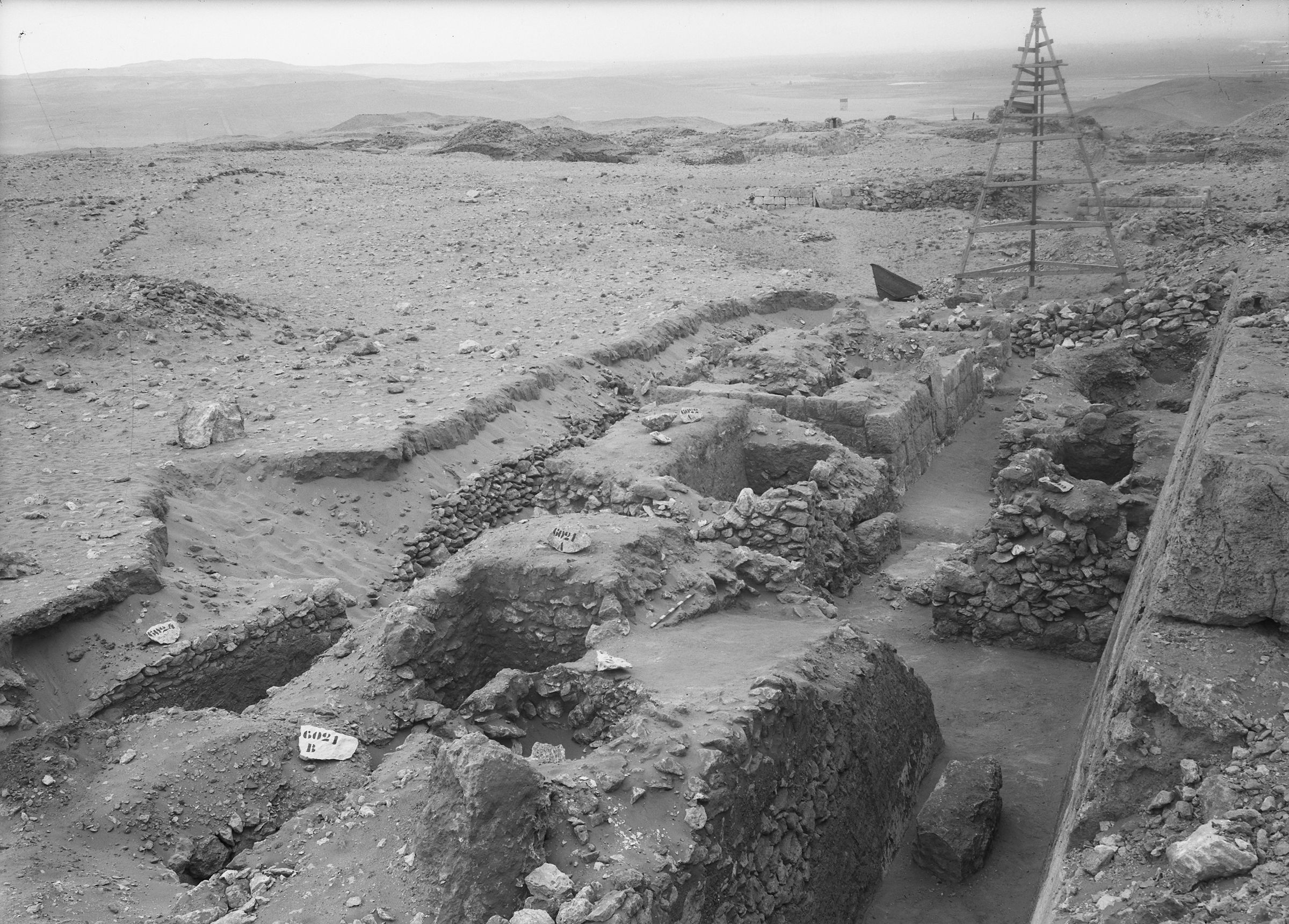 Western Cemetery: Site: Giza; View: G 6021, G 6022, G 6023, G 6024, G 6040