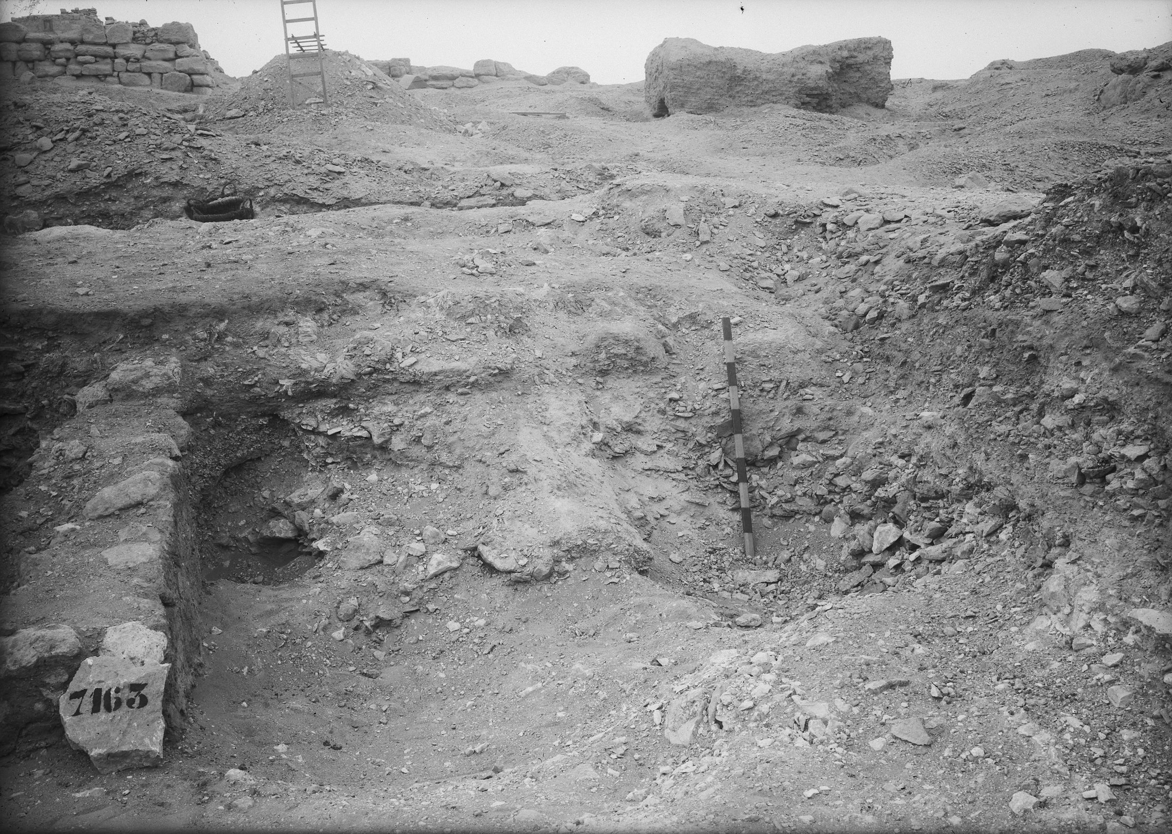 Eastern Cemetery: Site: Giza; View: G 7163