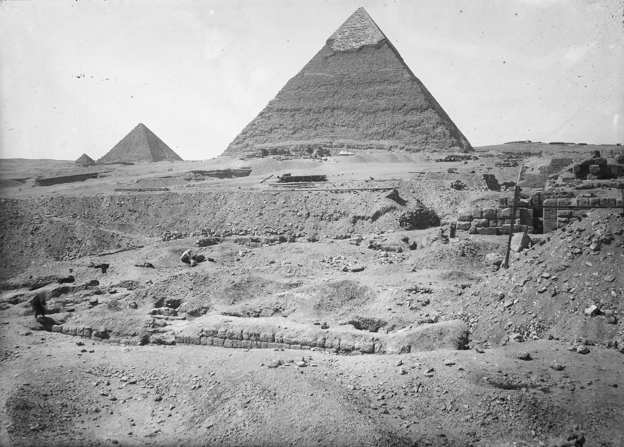 Eastern Cemetery: Site: Giza; View: G 7164, G 7152